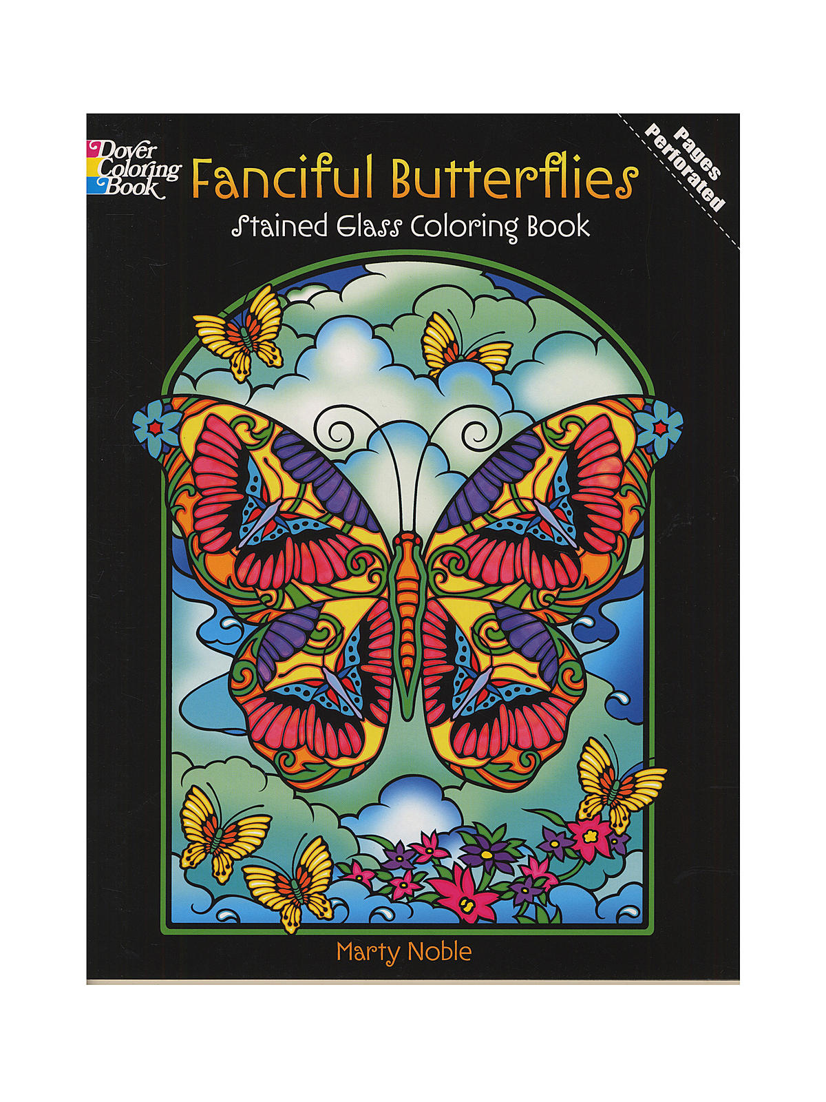 Dover - Stained Glass Coloring Books