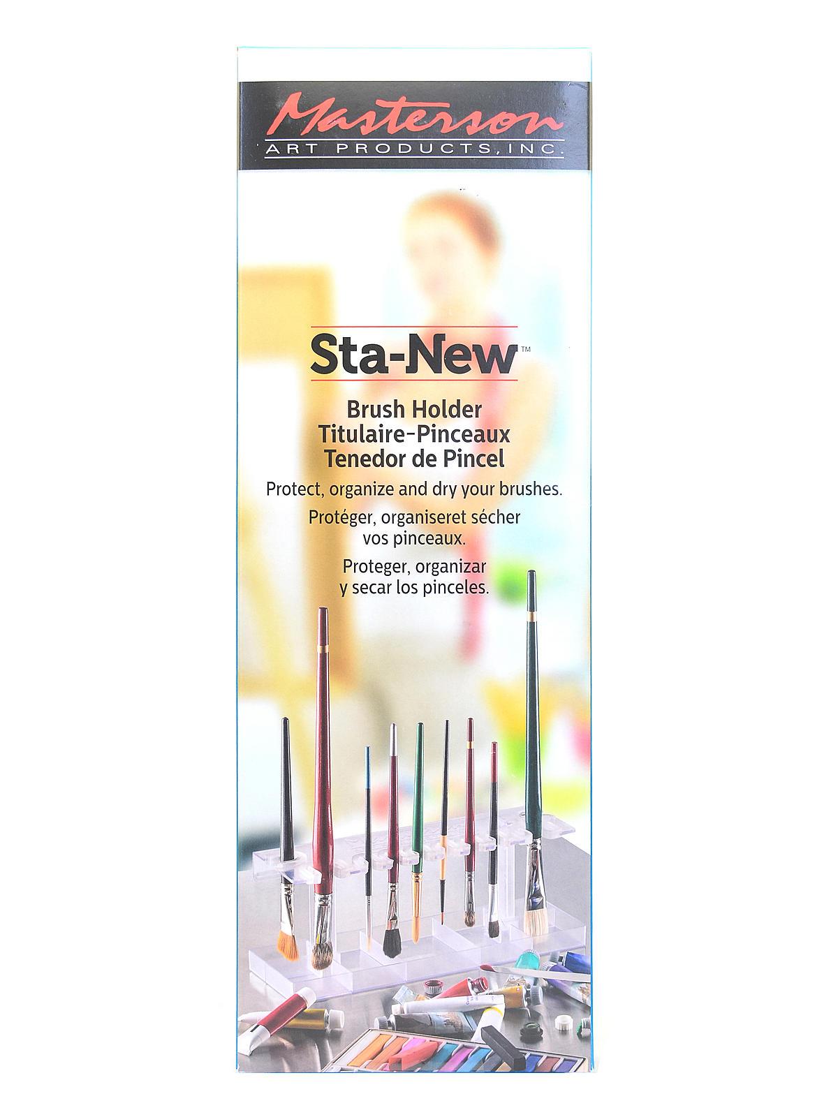 Sta-New Brush Holder