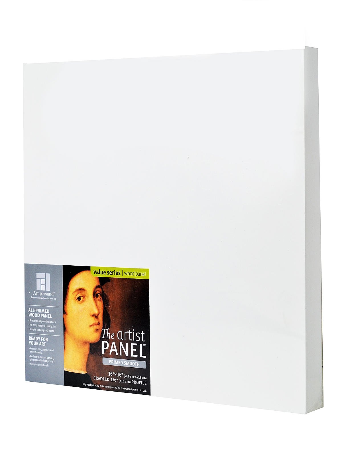 The Artist Panel Primed Smooth Cradled Profile