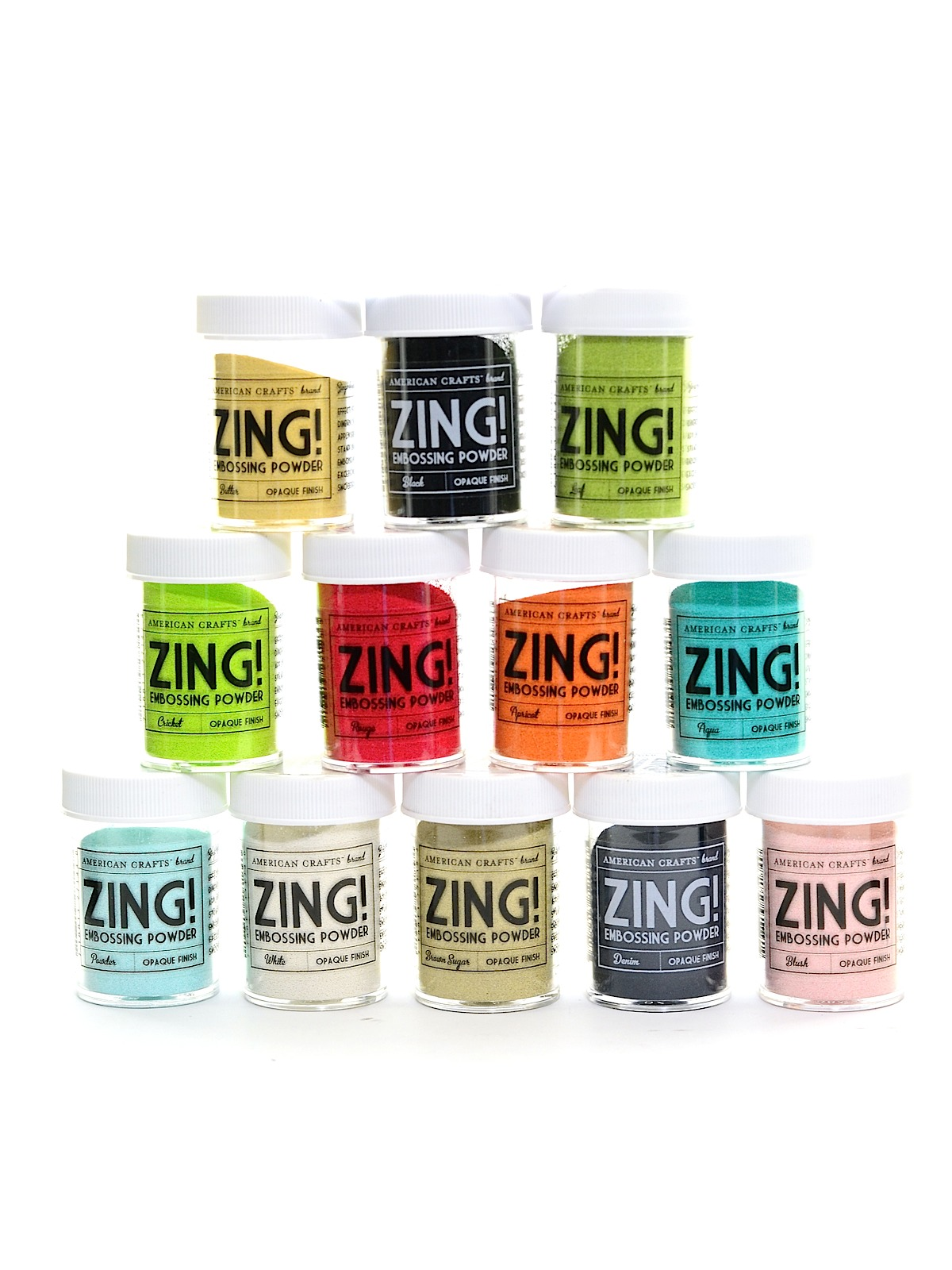 G Zing Opaque Embossing Powder