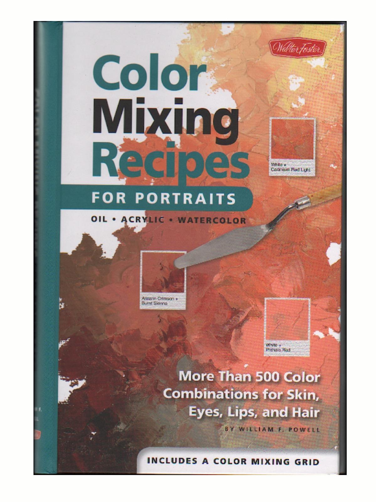 Color Mixing Recipes for Portraits Book
