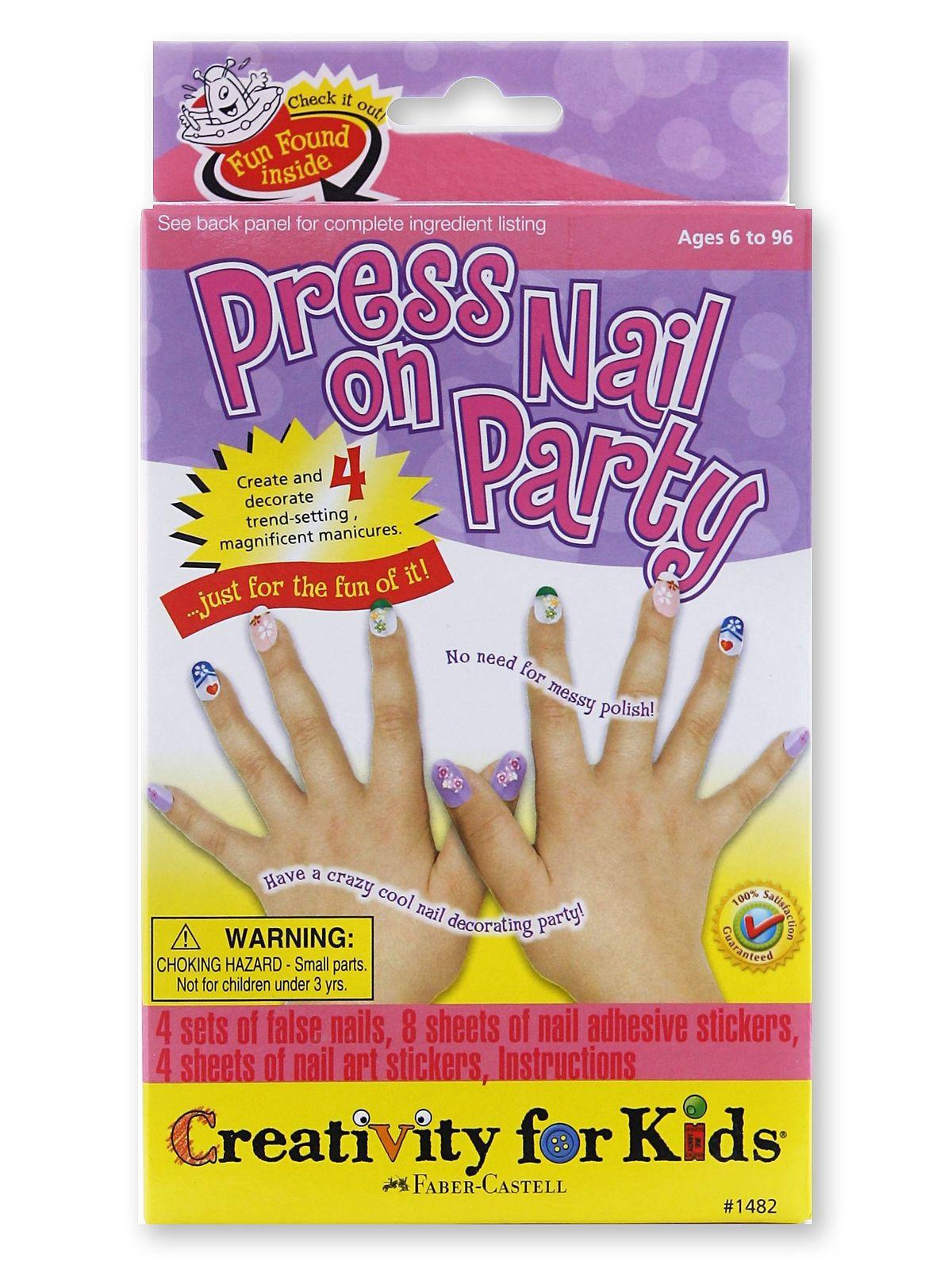 Press On Nail Party Mini Kit