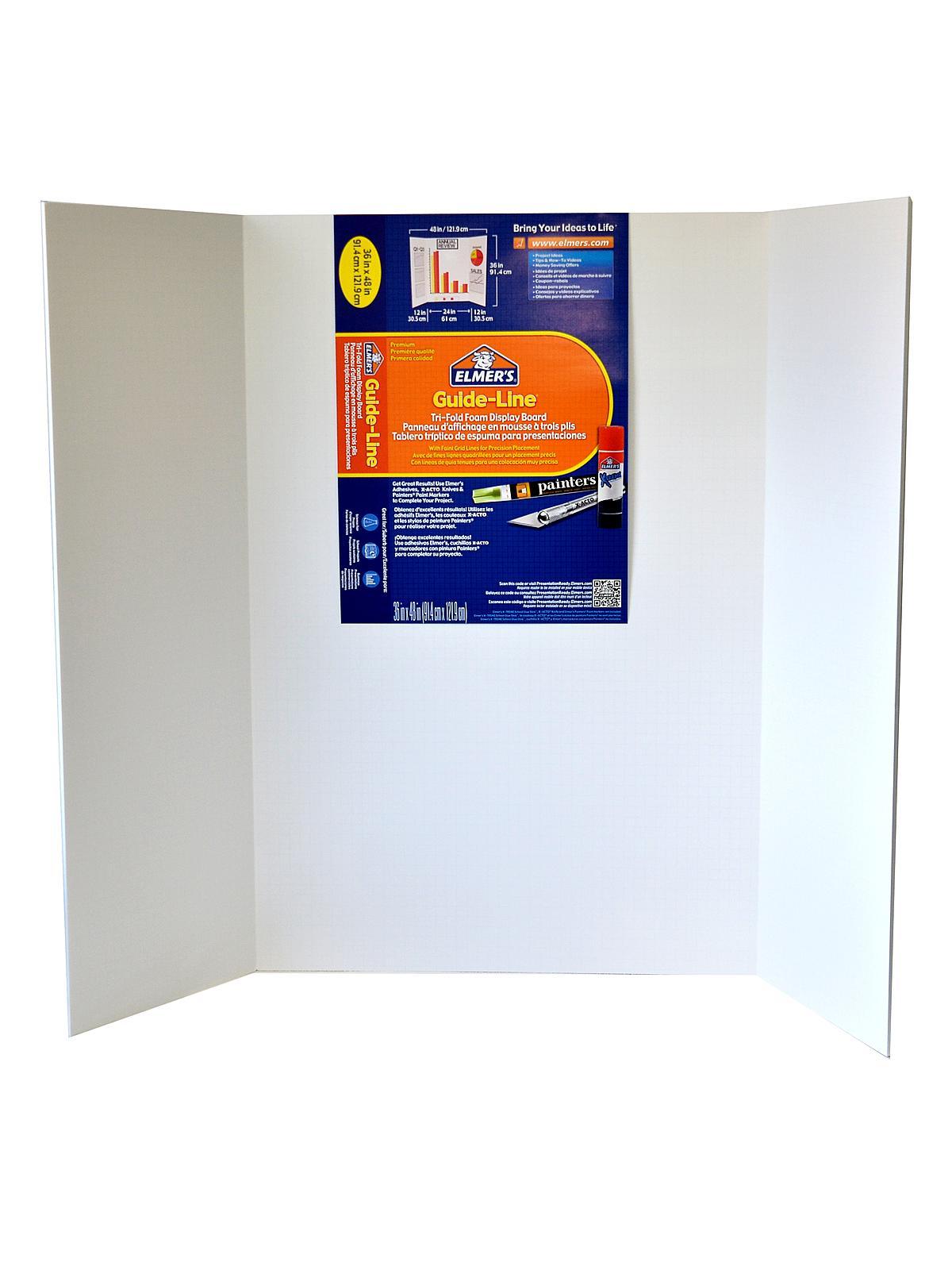 Elmer's - Guide-Line Tri-Fold Display Board