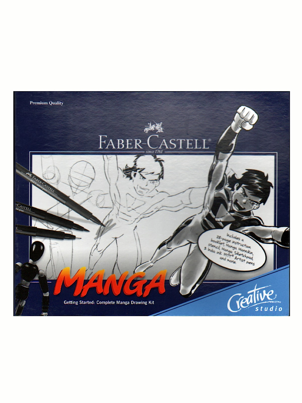 Complete Manga Drawing Kit