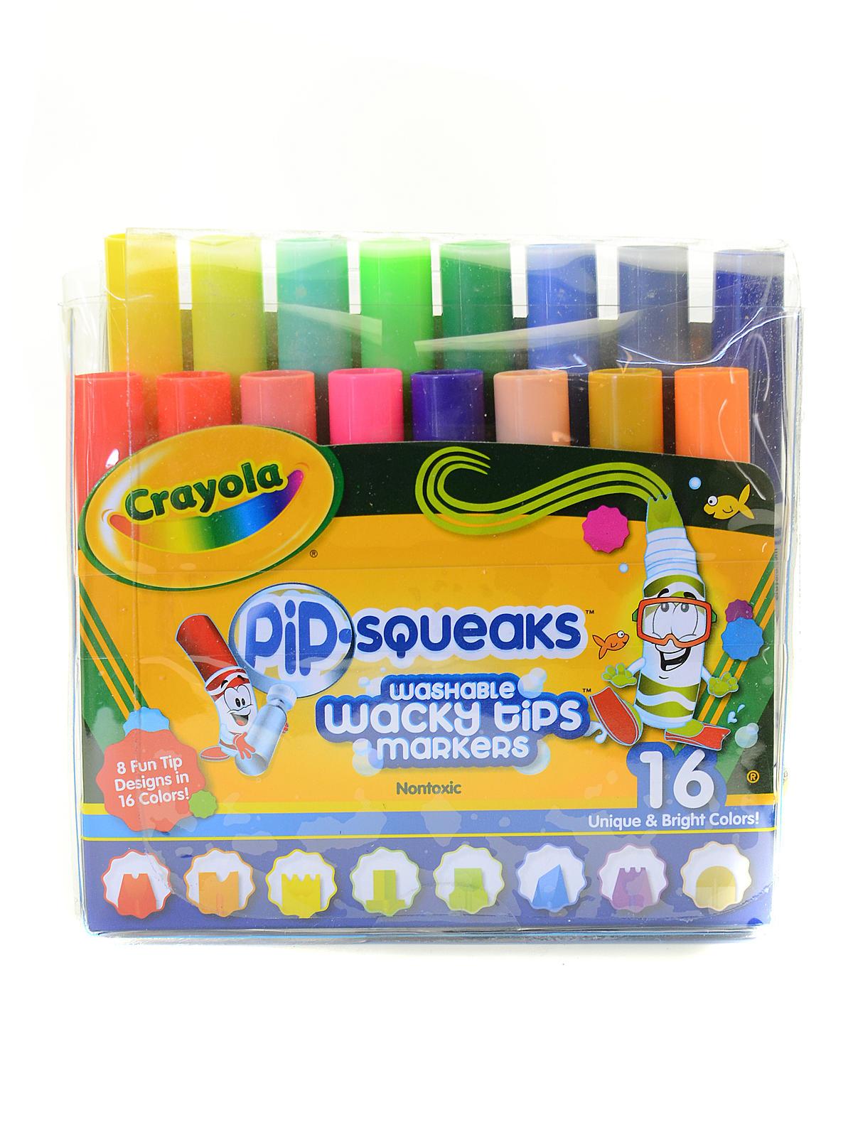 Pip-Squeaks Washable Wacky Tips Markers
