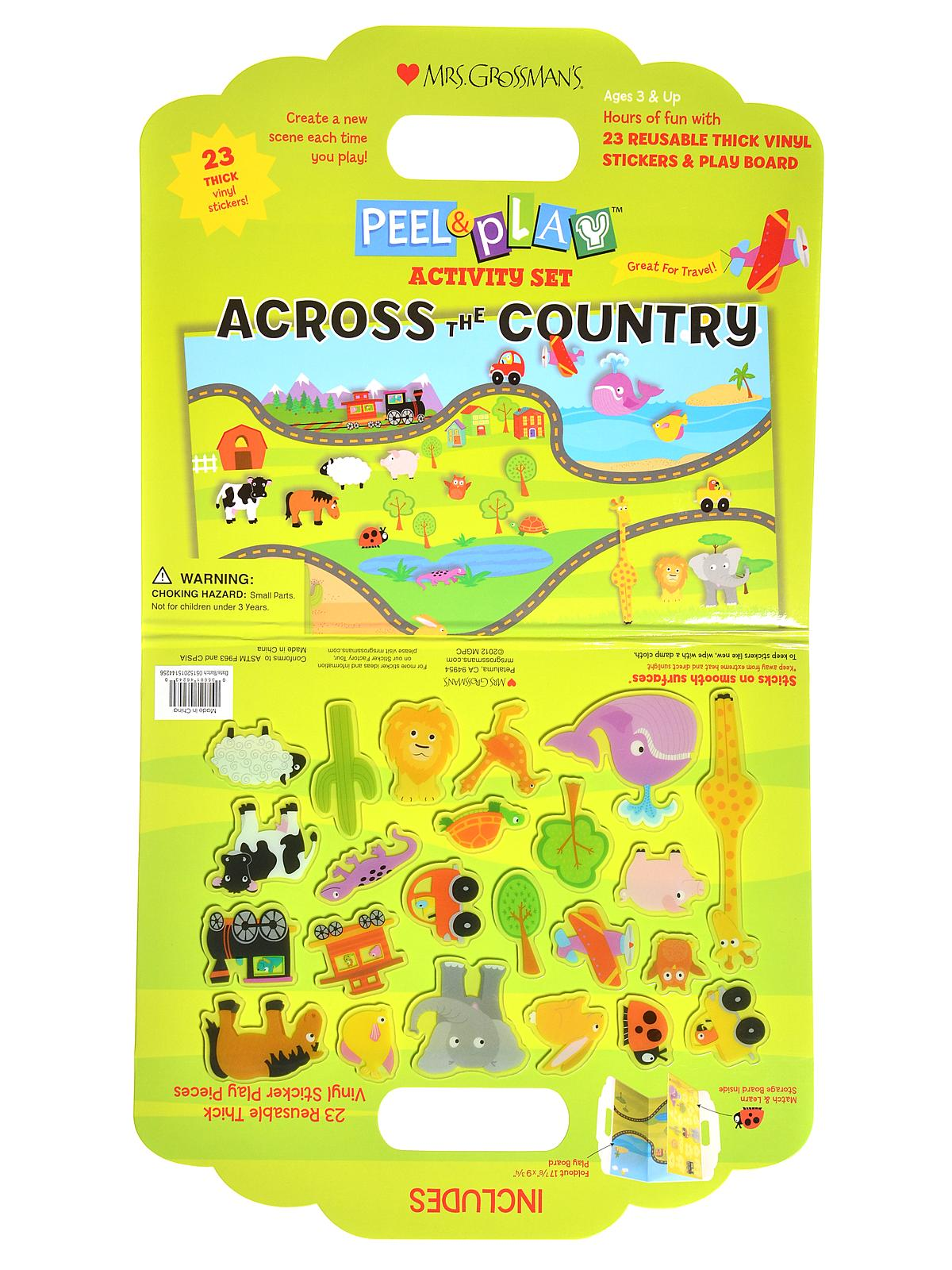 Peel and Play Activity Sets