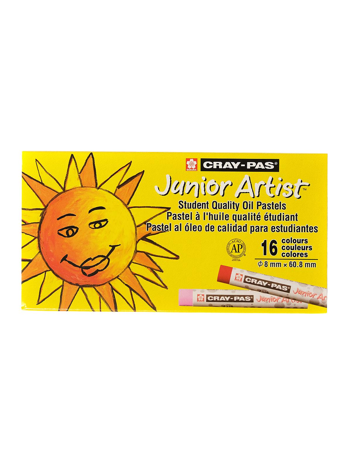 Cray-Pas Junior Artist Oil Pastel Sets