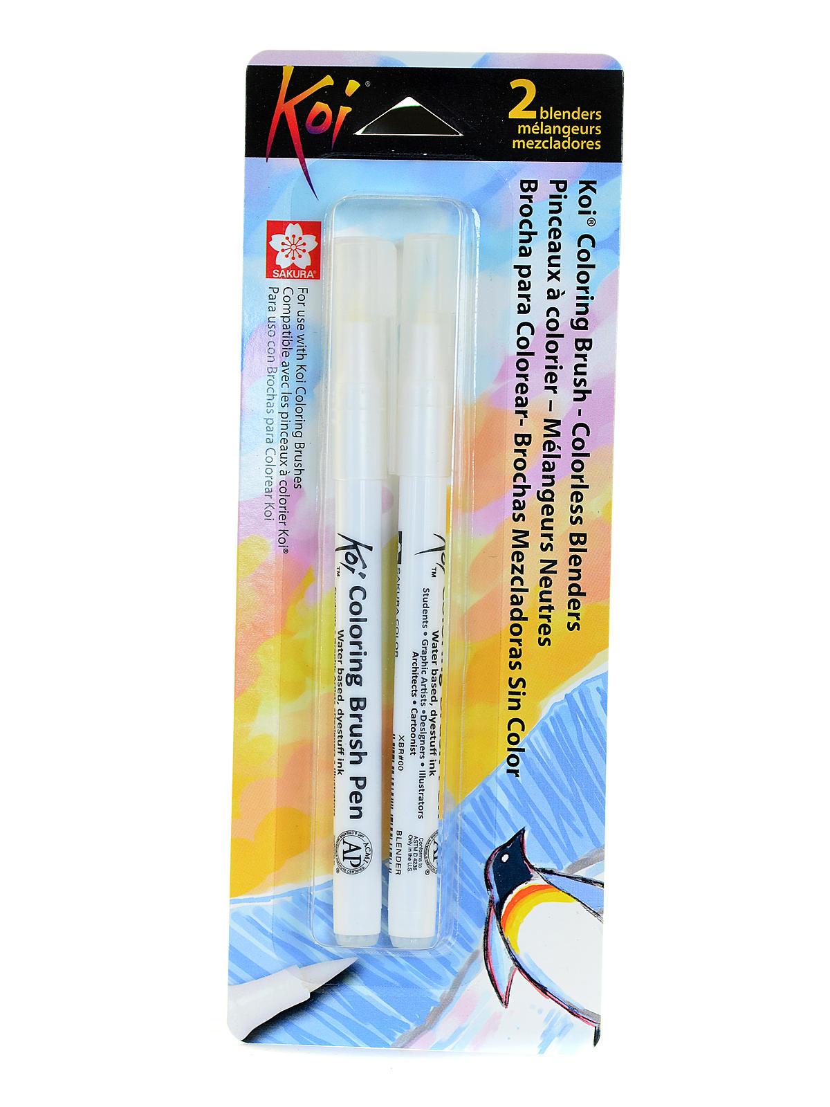 Koi Coloring Brush - Colorless Blenders