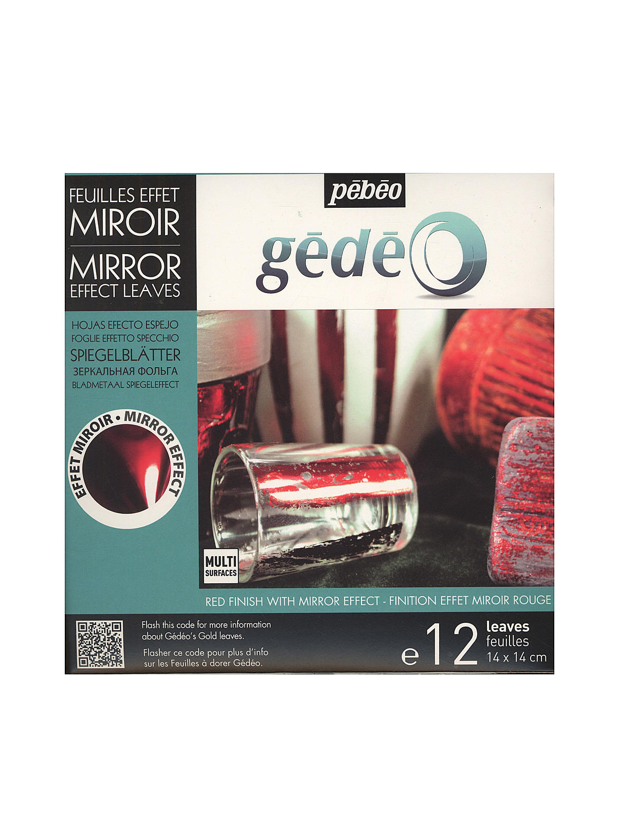 Gedeo Gilding Mirror Effect Metal Leaf