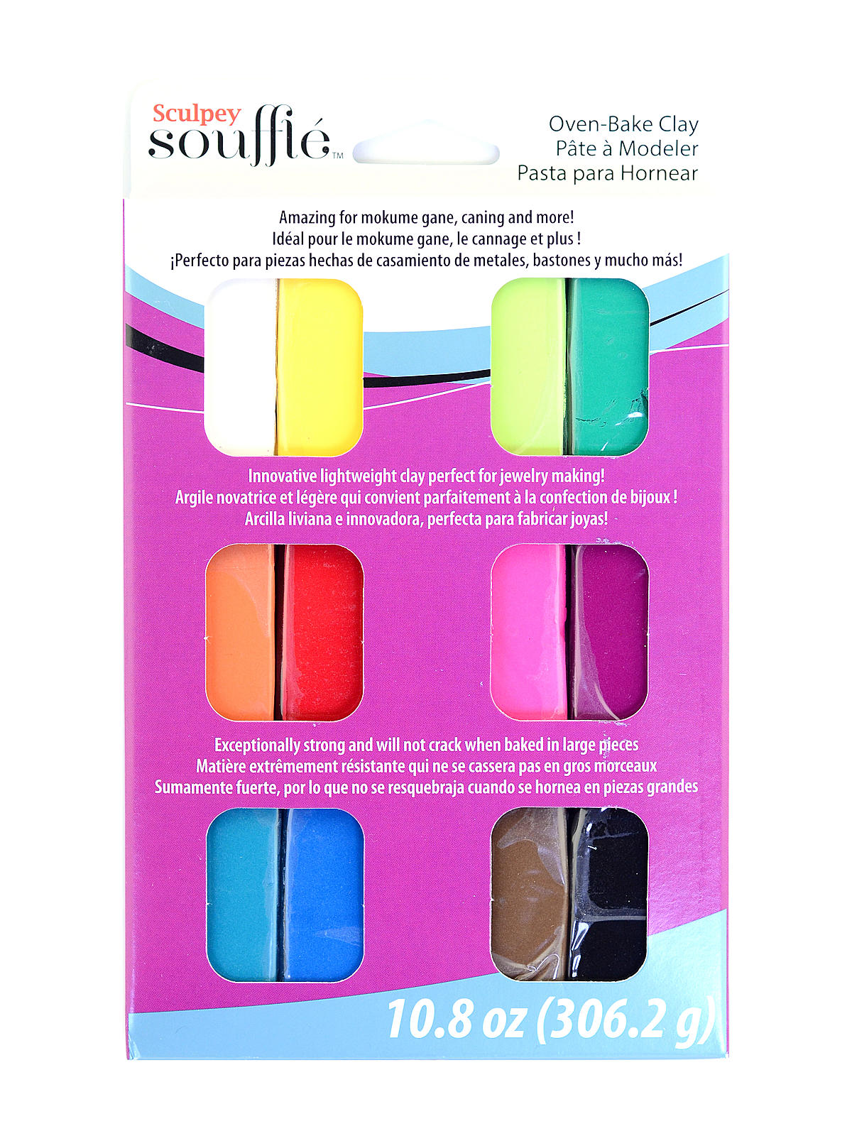 Soufflé Oven-Bake Clay Multipack