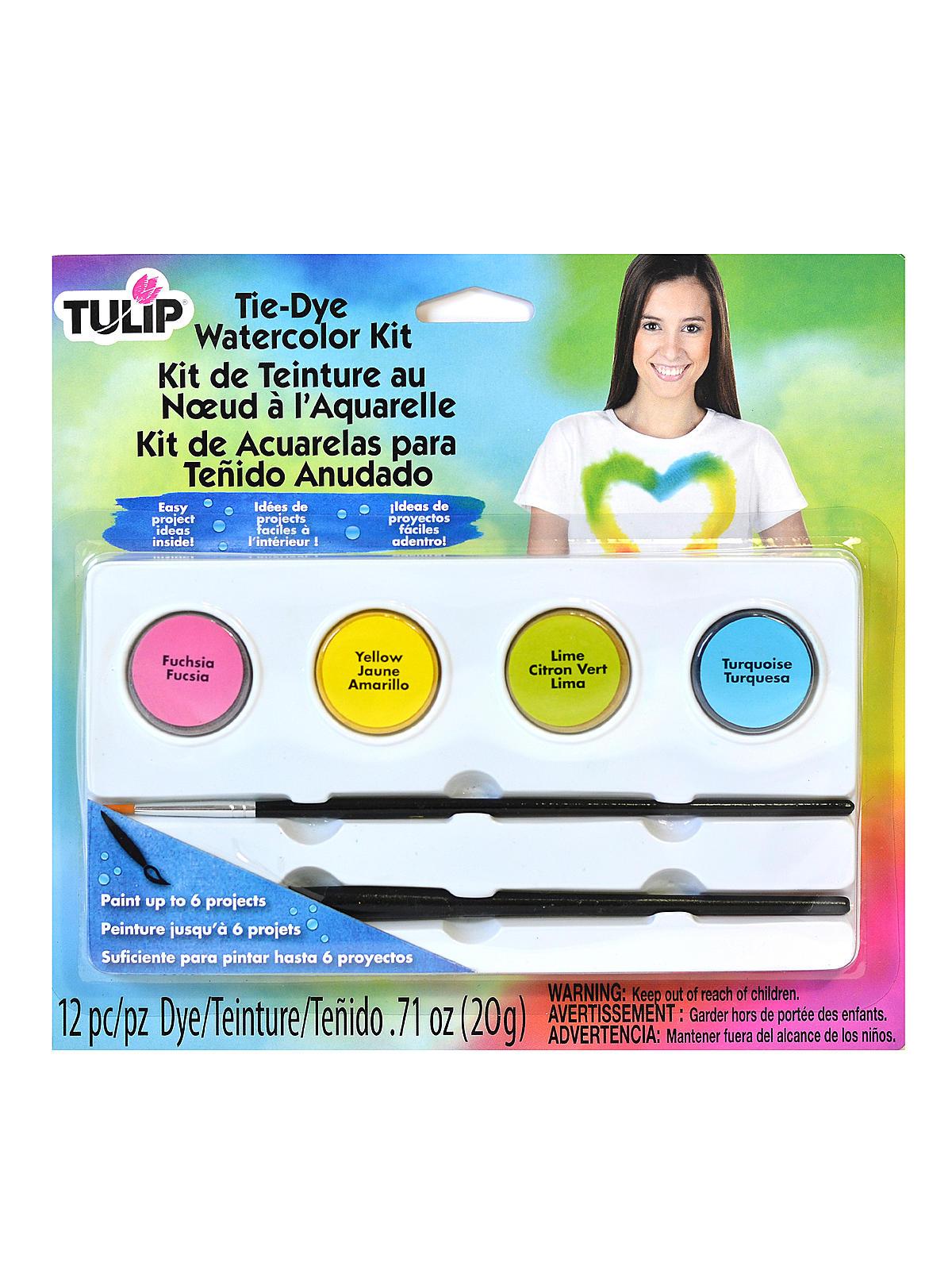 One-Step Watercolor Dye Kits