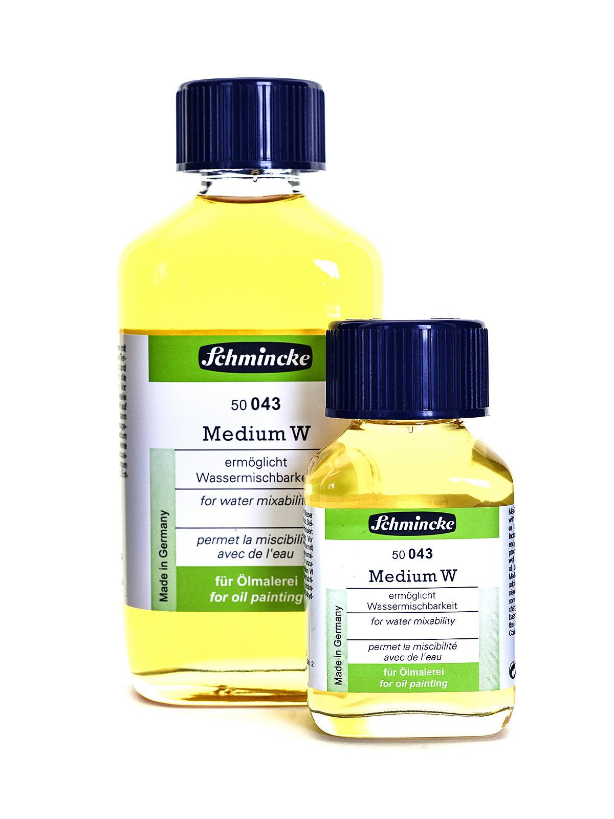 Medium W - Water Mixable Medium