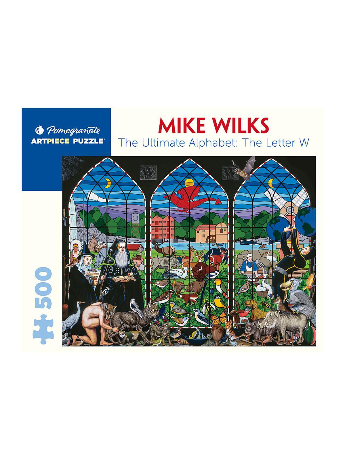 500-Piece Jigsaw Puzzles