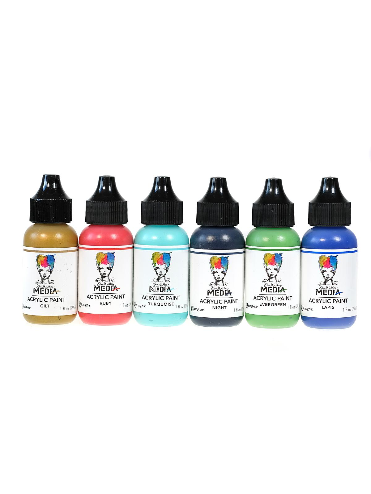 Dina Wakley Media Heavy Body Acrylic Paints