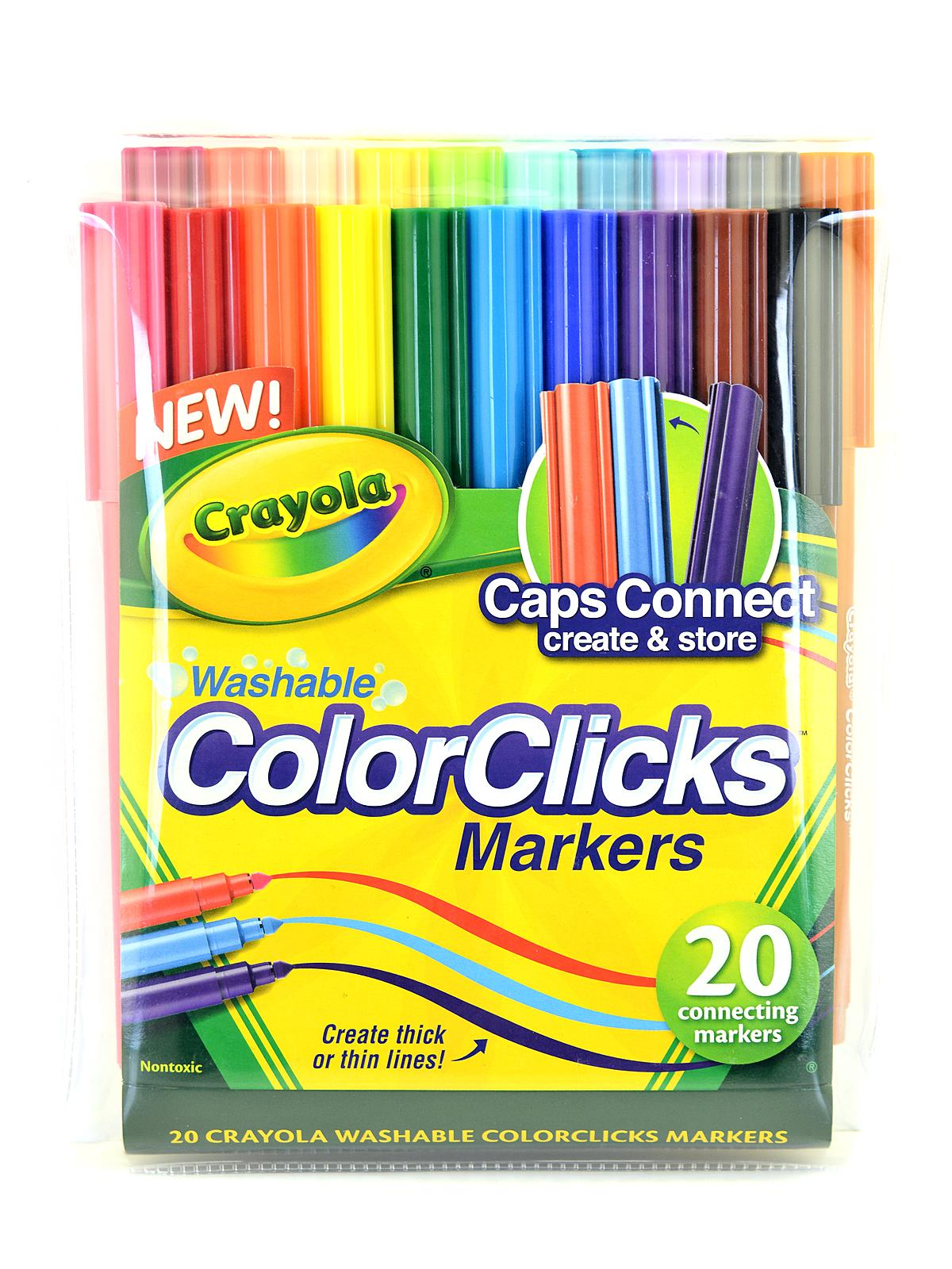 Color Clicks Washable Markers