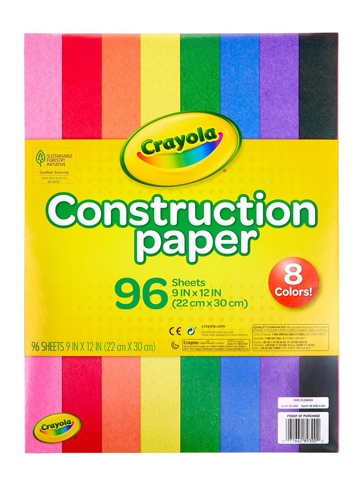 Construction Paper Pads