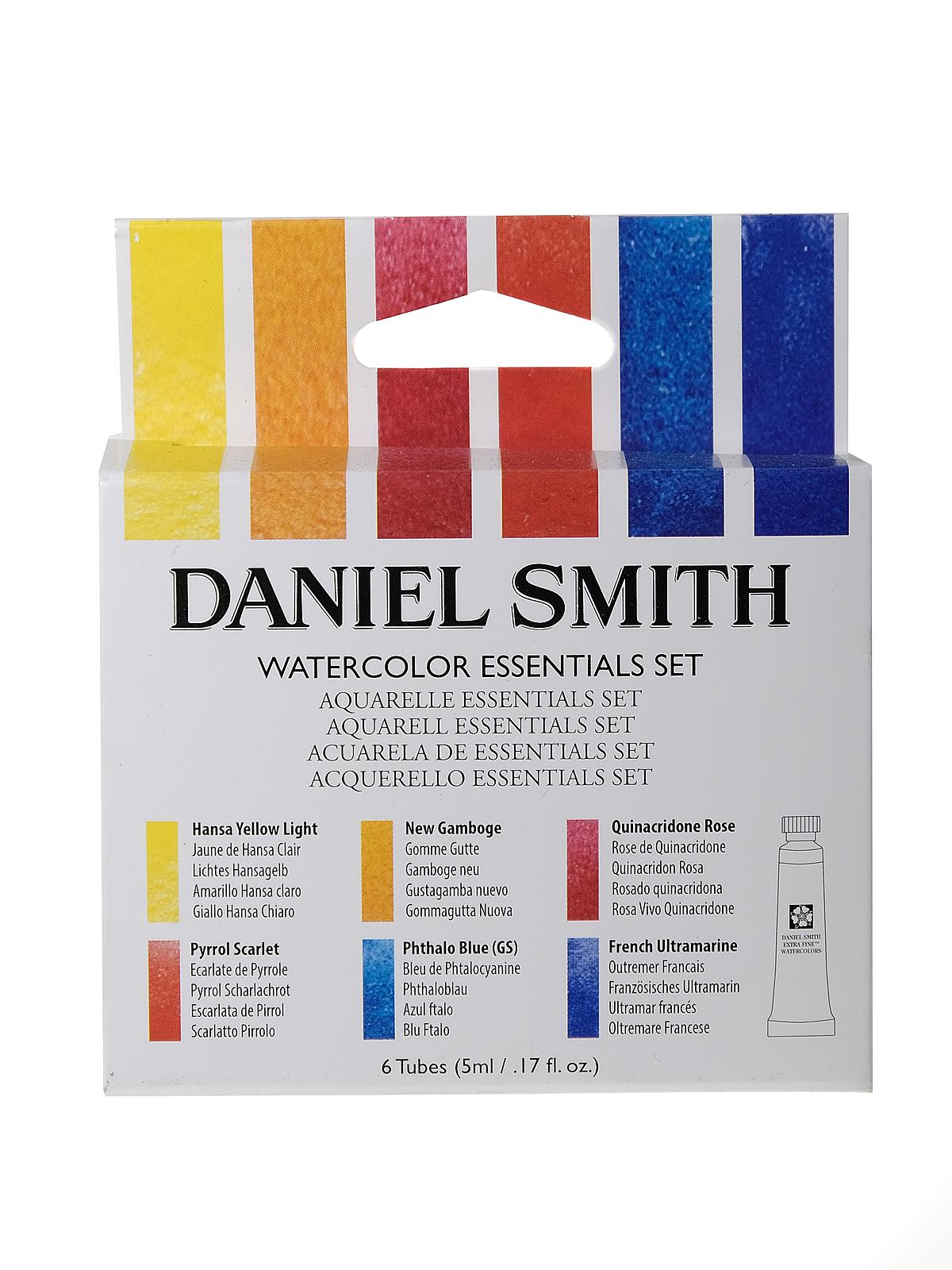 Daniel Smith Introductory Watercolor Sets Misterart Com