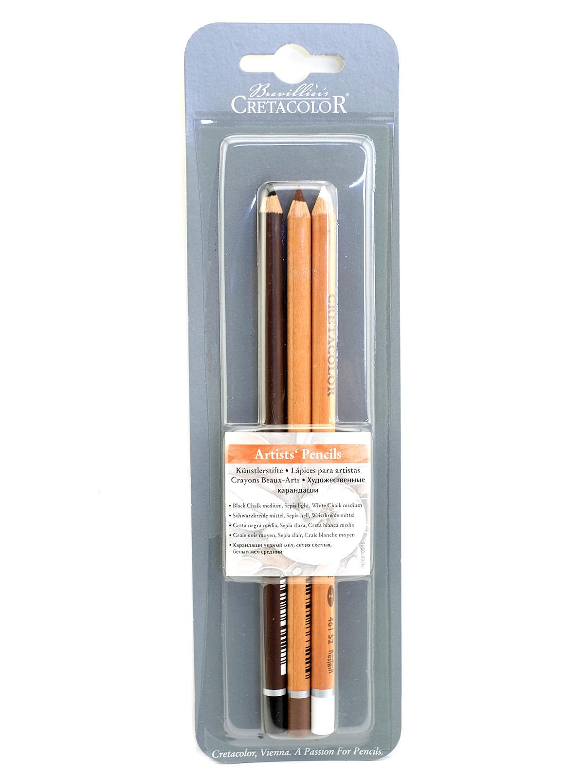 Sketch Pencils Set