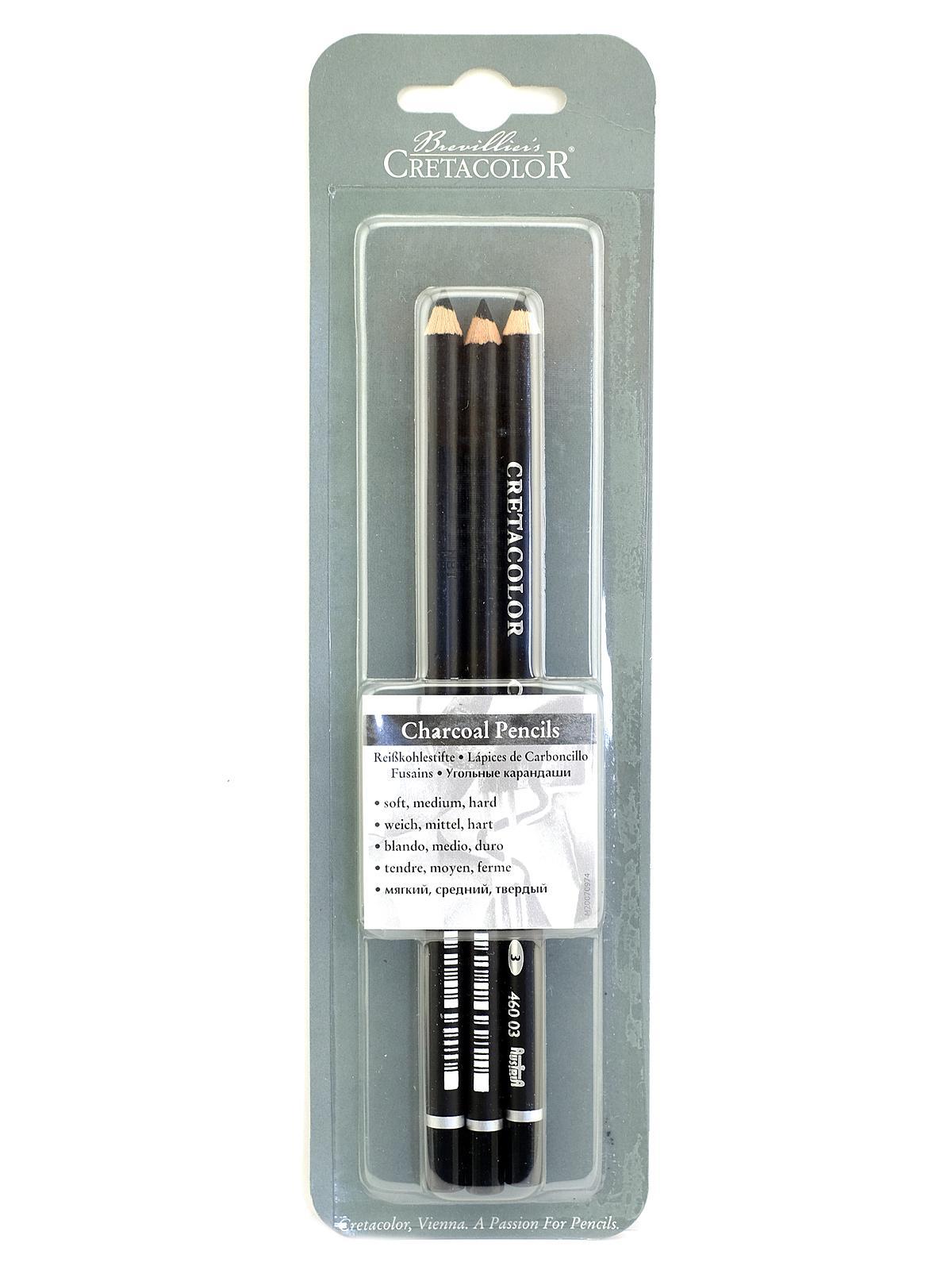 cretacolor charcoal pencil set misterartcom