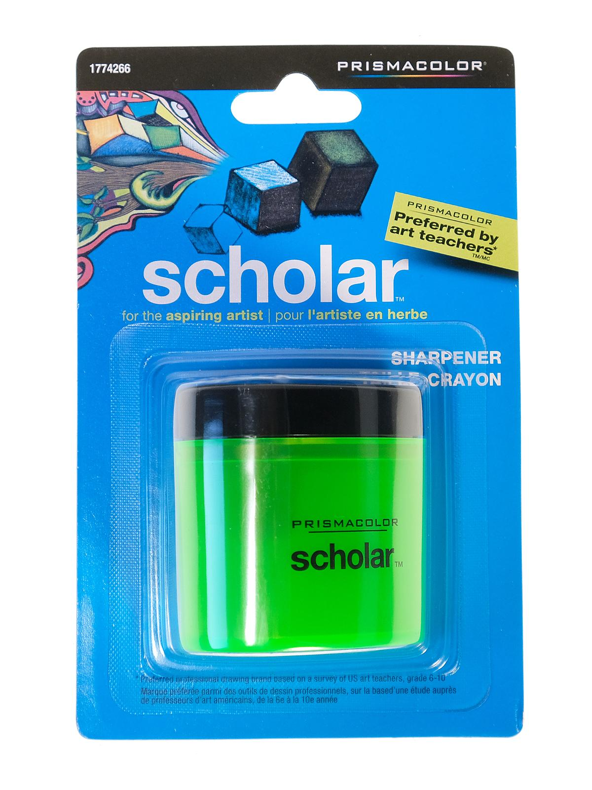 prismacolor sharpener how to open