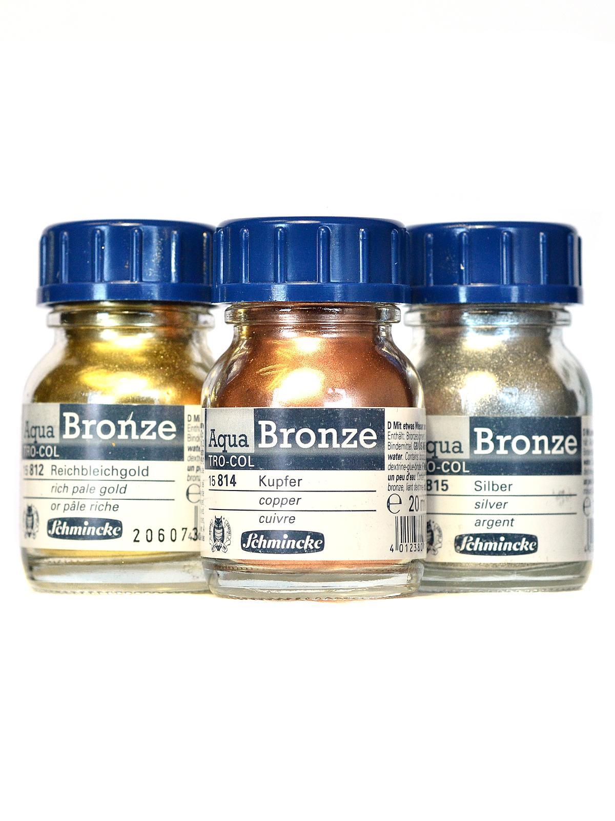 Aqua Bronzes