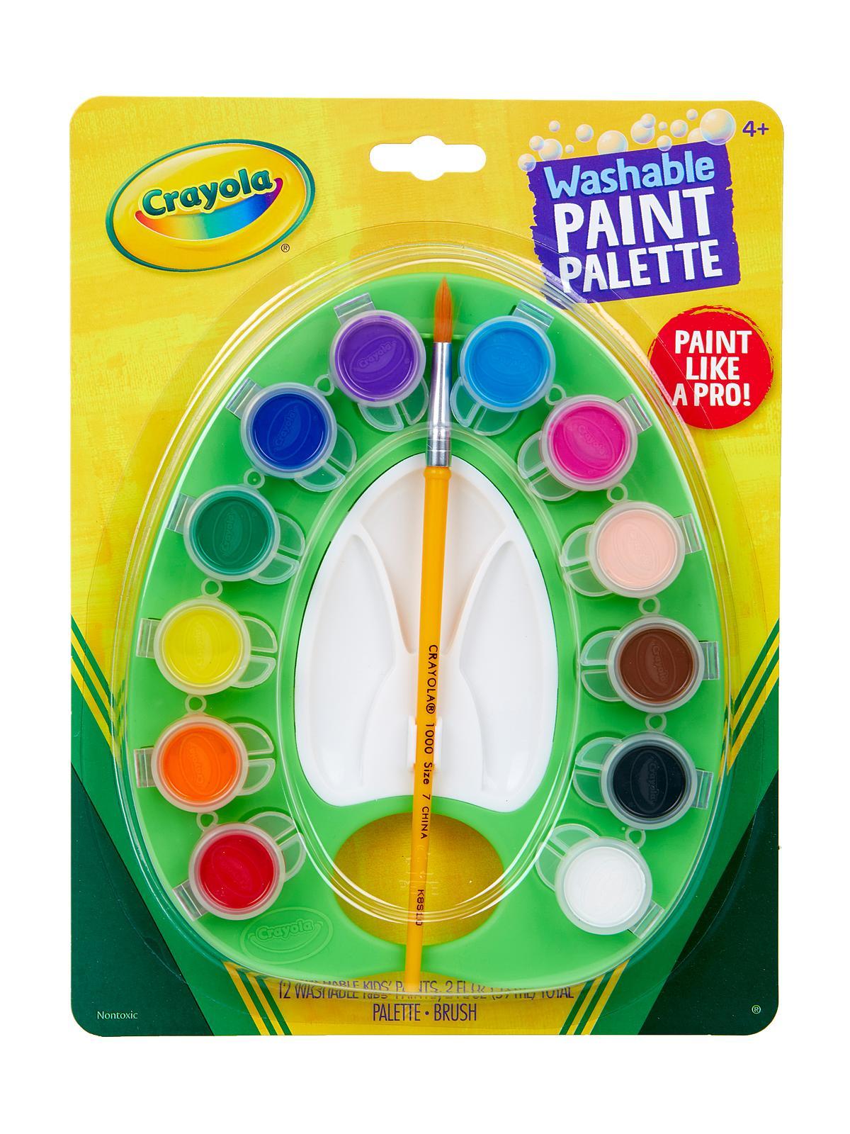 Washable Kids' Paint Pot Palette