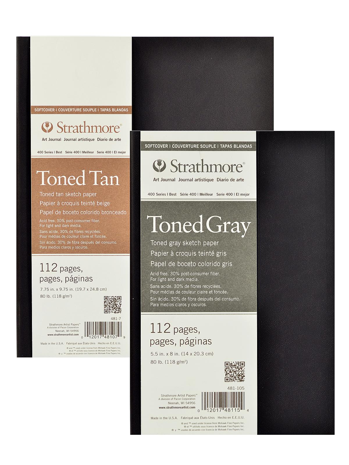 400 Series Toned Sketch Softcover Pad