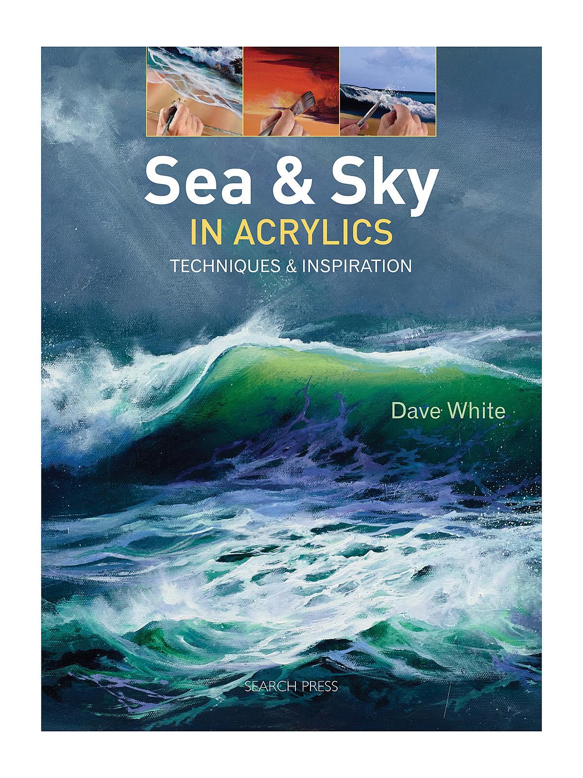 Search Press - Sea & Sky in Acrylics