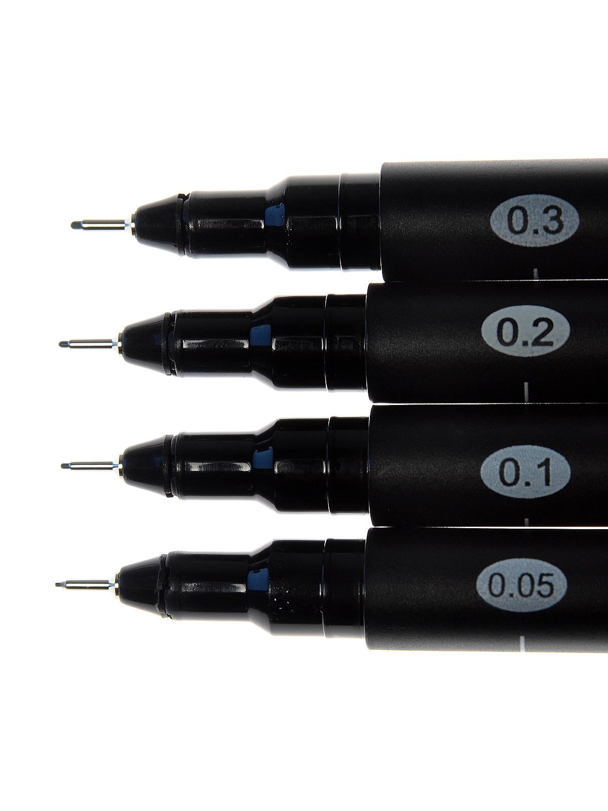 Blackliner Fine Line Drawing Pen Sets