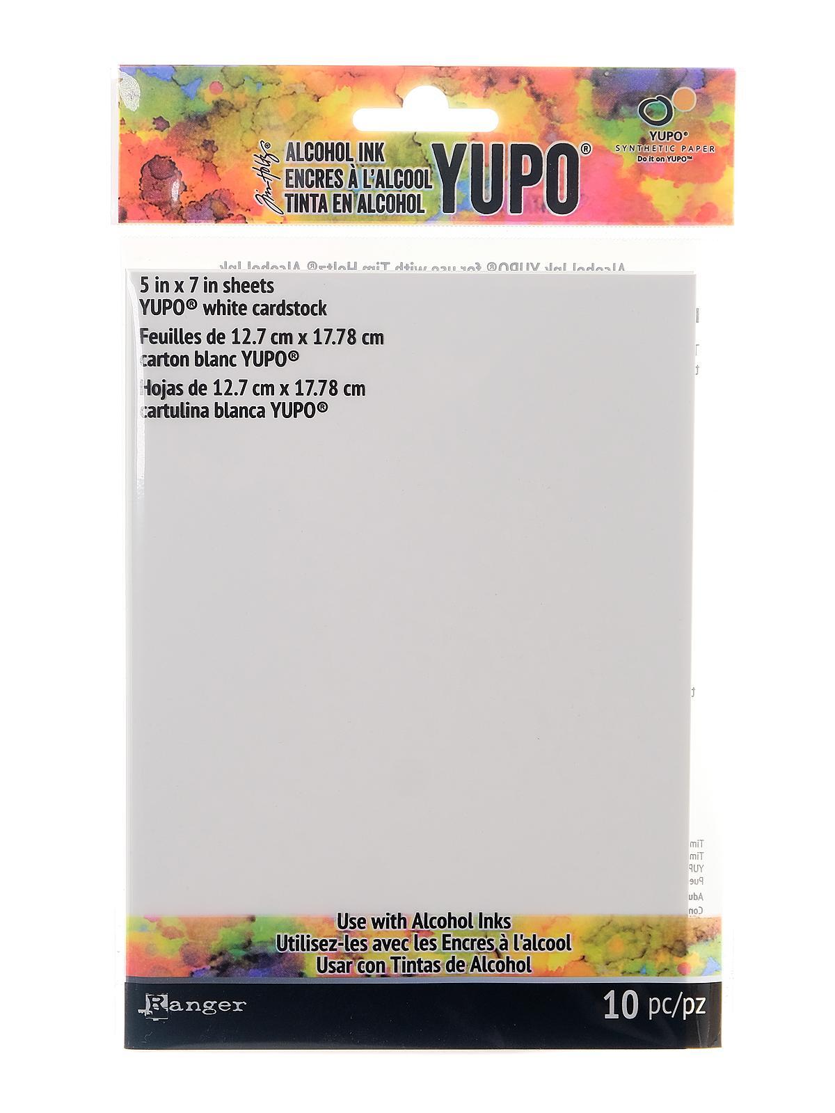 Ranger - Tim Holtz Alcohol Ink Yupo Paper