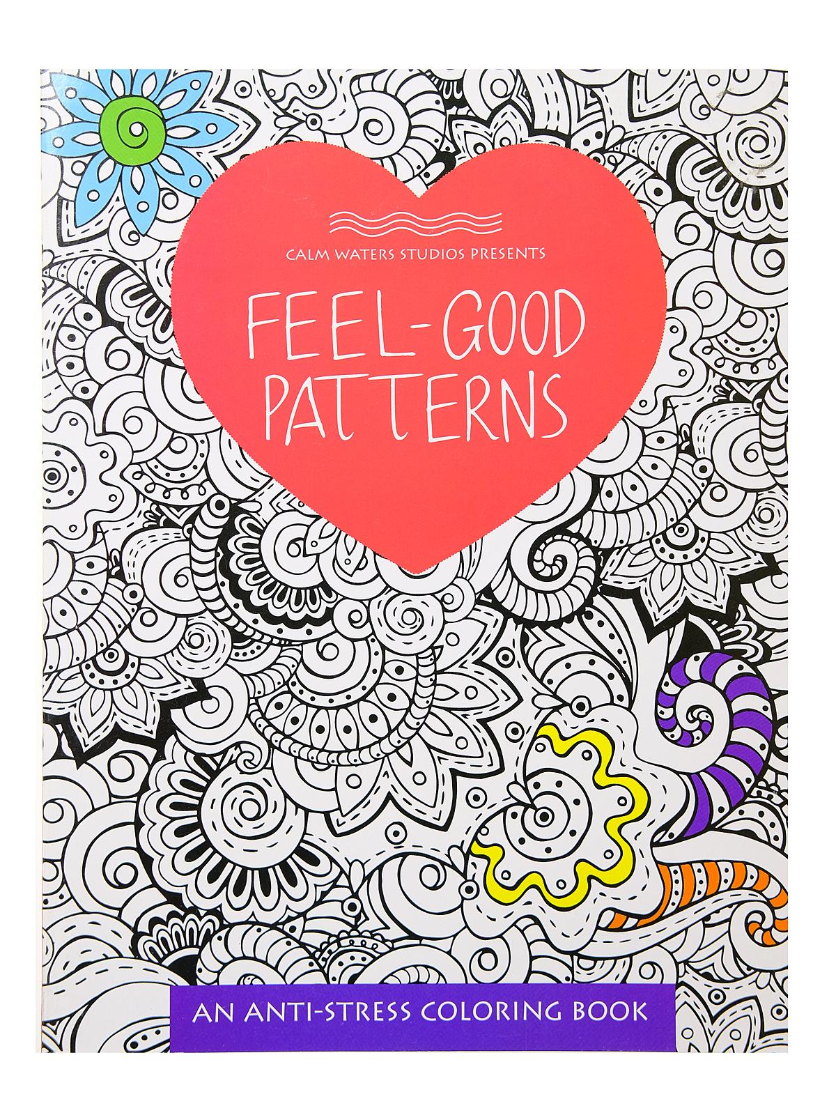 Anti-Stress Coloring Book Series