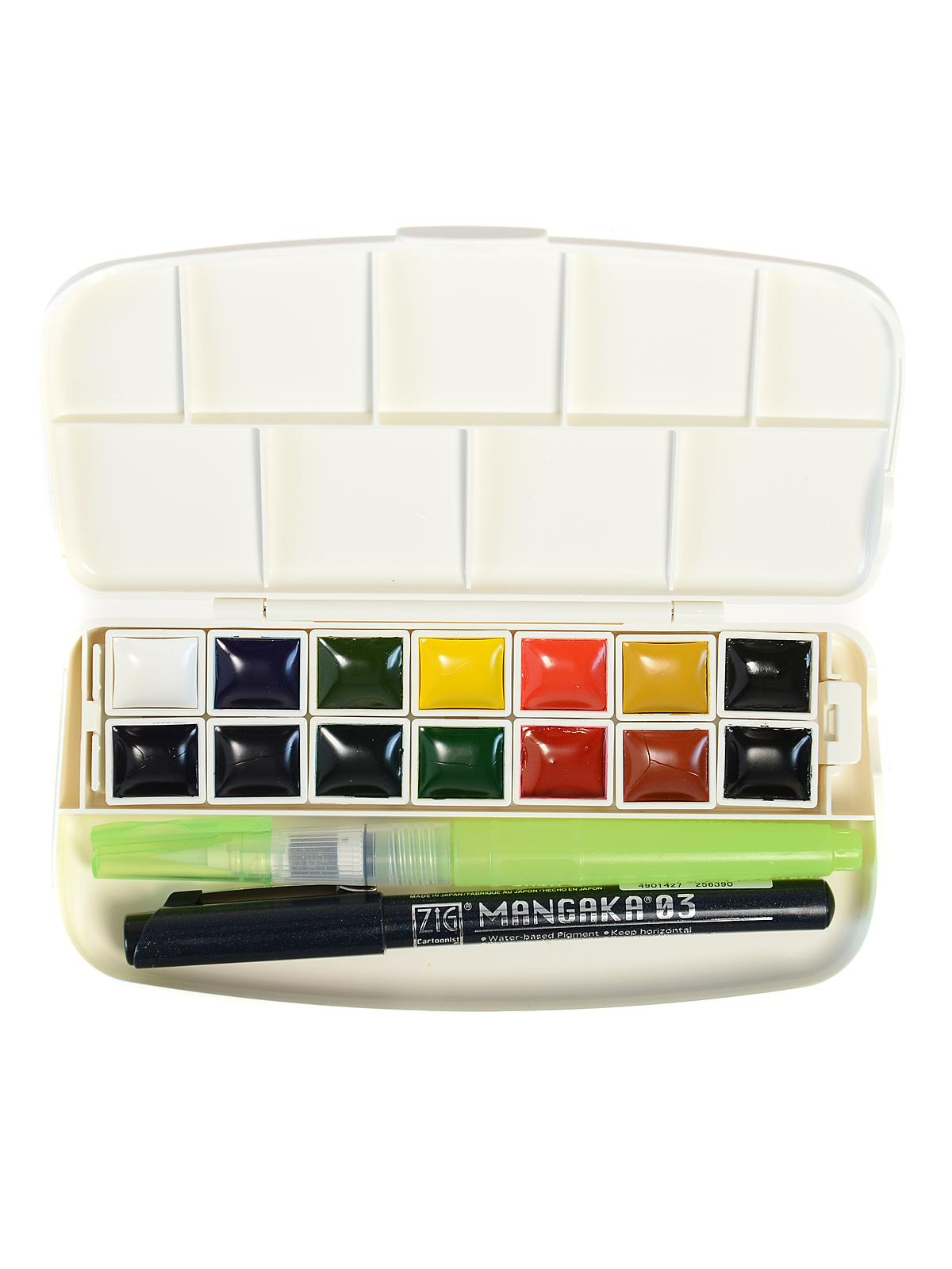 Transparent Pan Watercolor Set