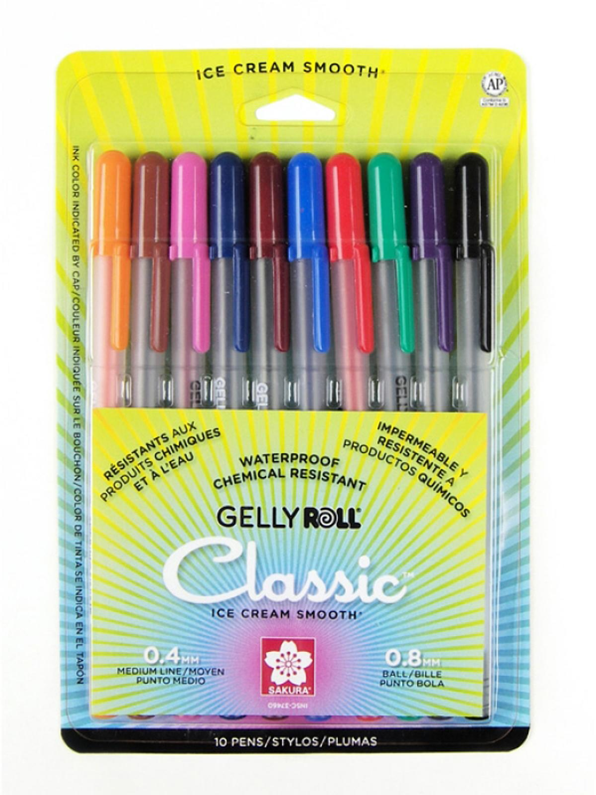 Gelly Roll Classic Pens Sets