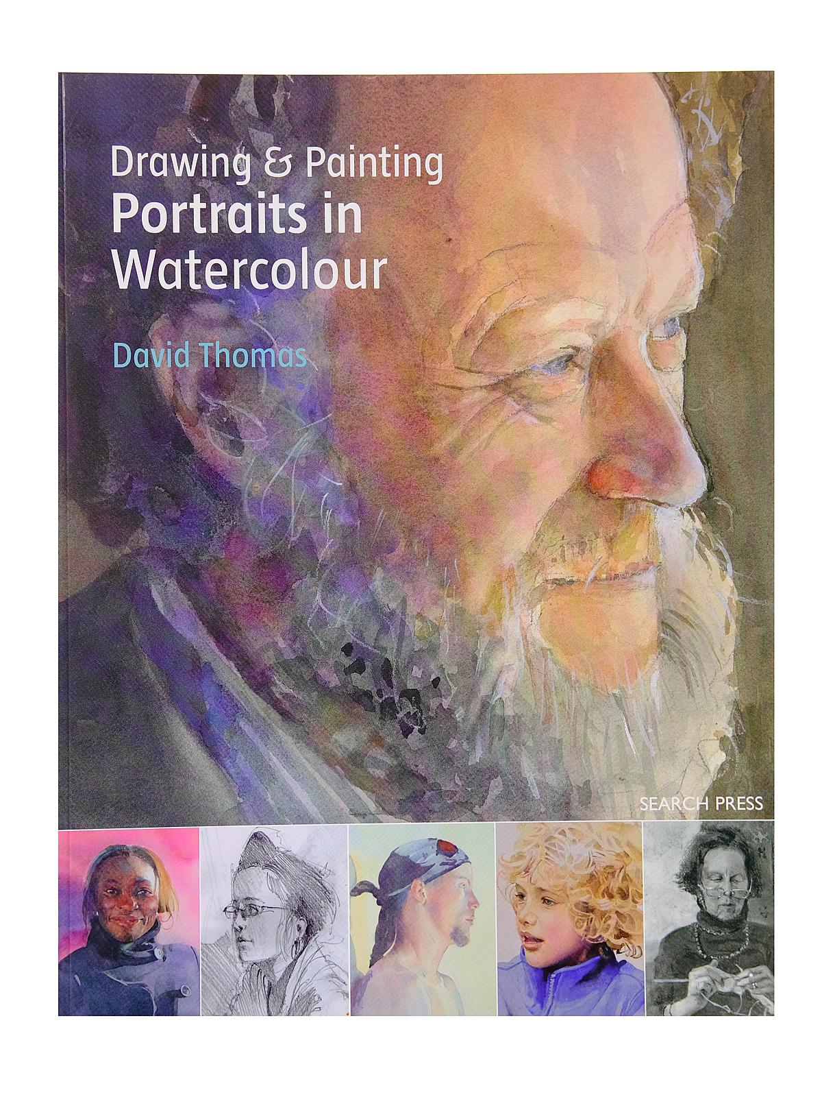 Search Press - Drawing & Painting Portraits in Watercolour