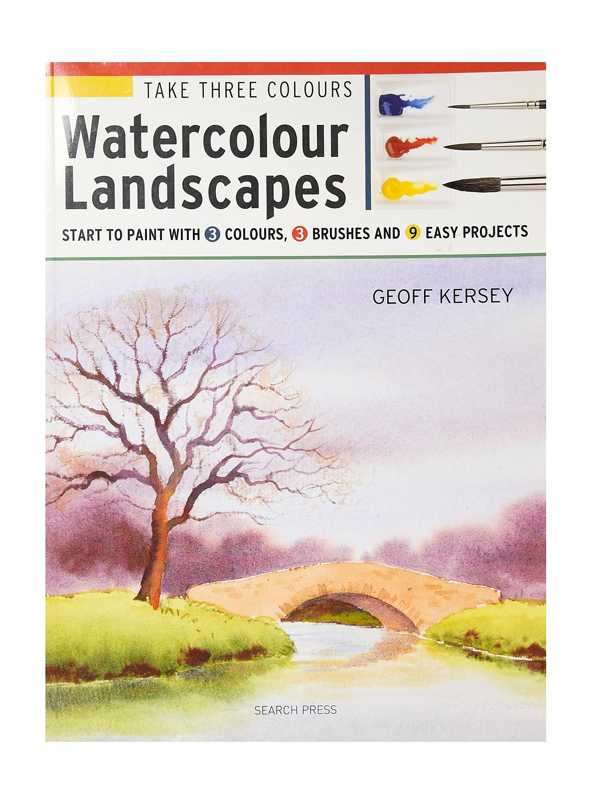 Search Press - Take Three Colours Series