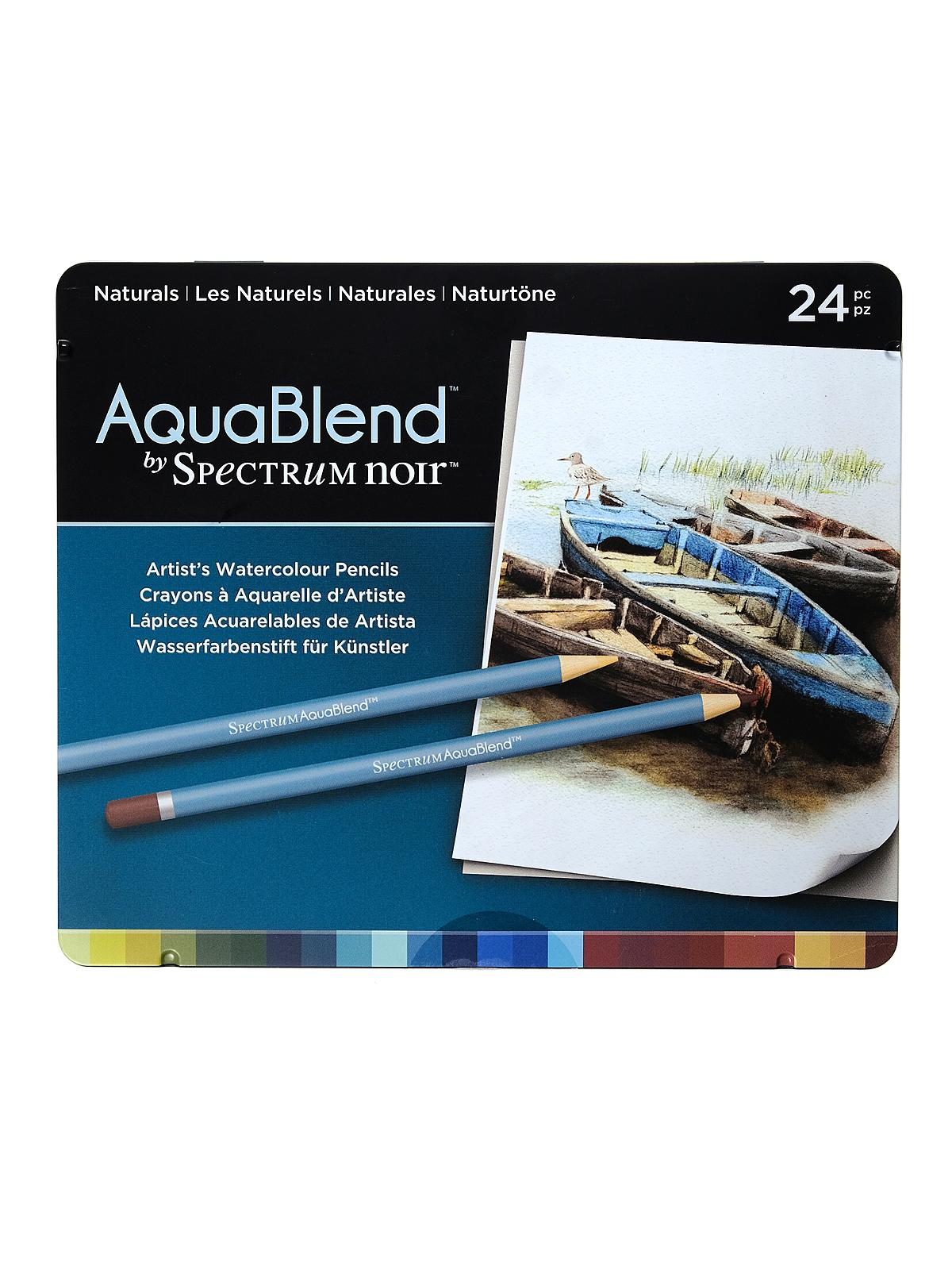 Aquablend Watercolor Pencils