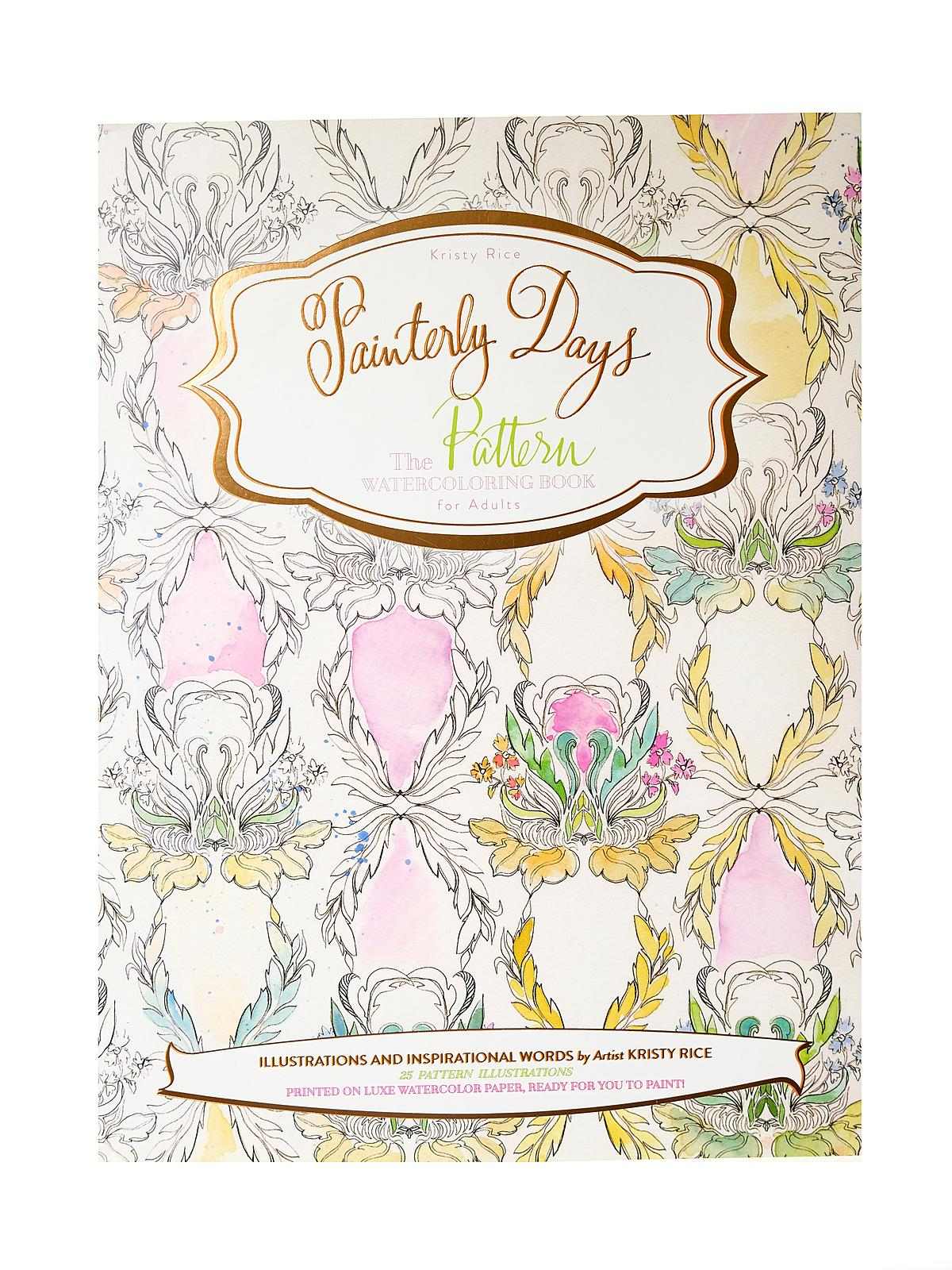 Painterly Days: Watercoloring Book for Adults