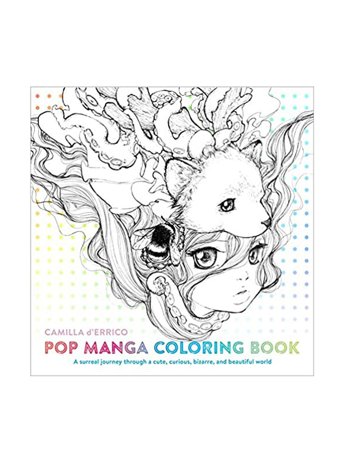 Watson-Guptill - Pop Manga Coloring Book