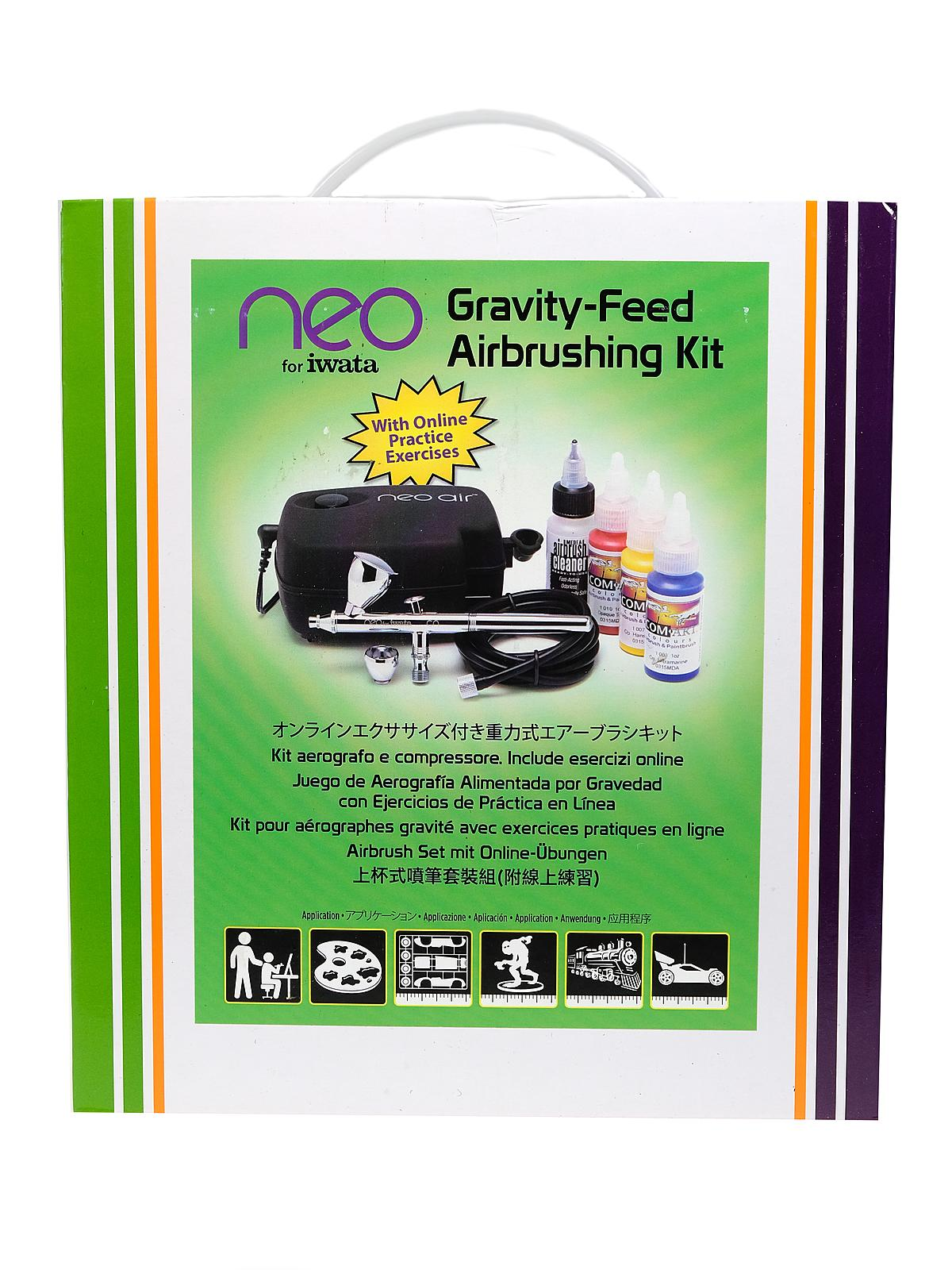 Neo CN Gravity-Feed Airbrushing Kit