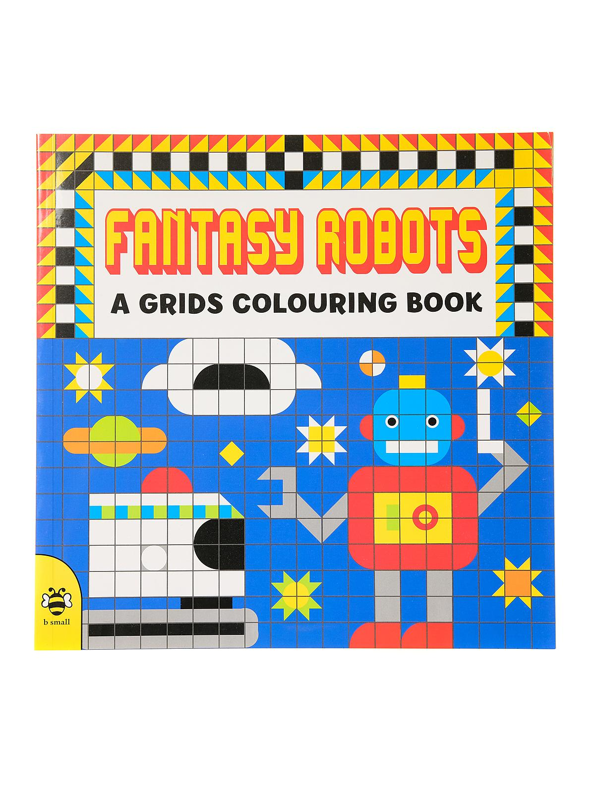 A Grids Colouring Book