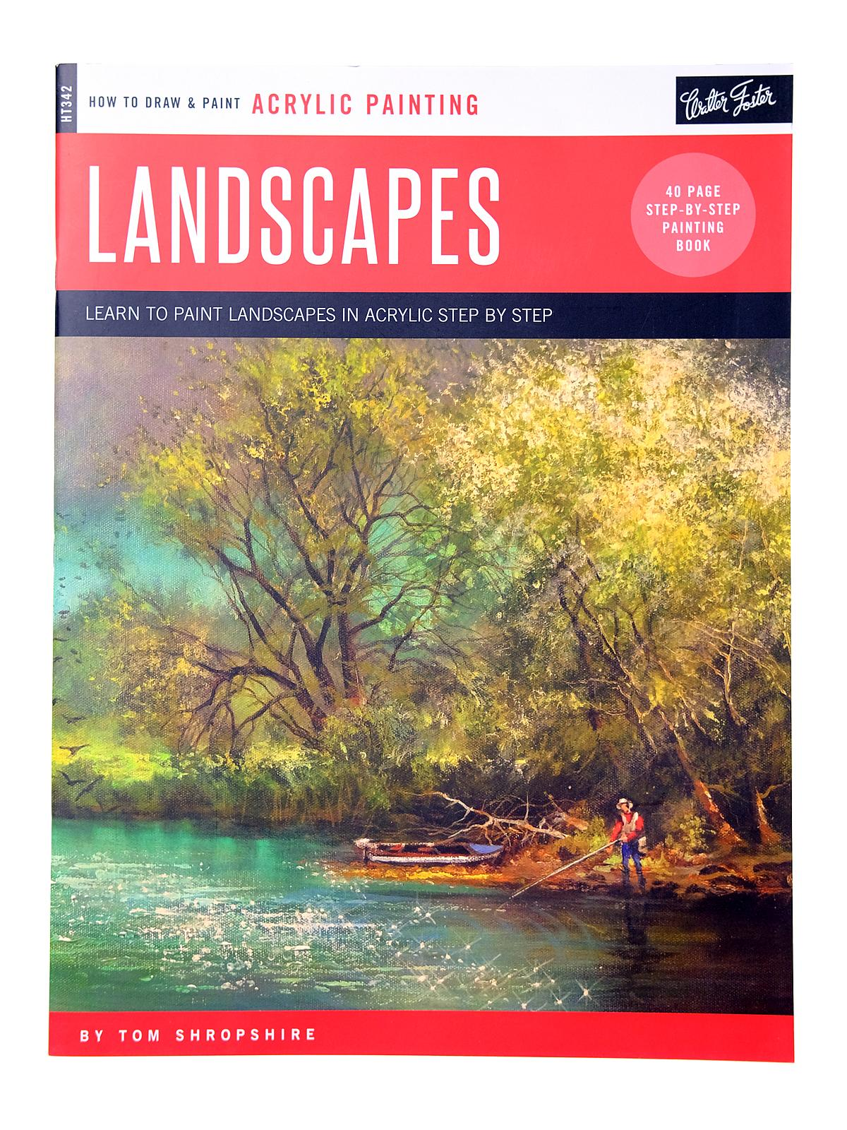 How to Draw & Paint Landscapes in Acrylic