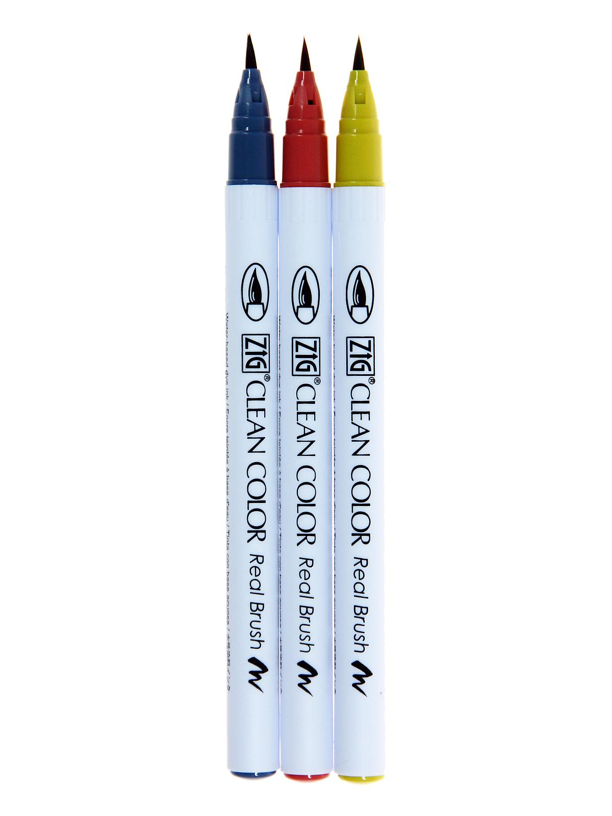 Clean Color Real Brush Marker