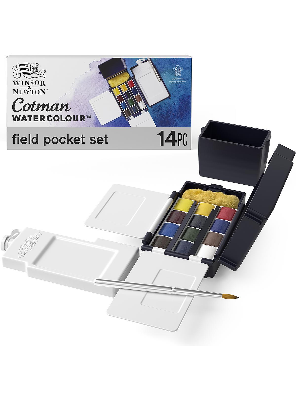 Cotman Water Colour Field Box