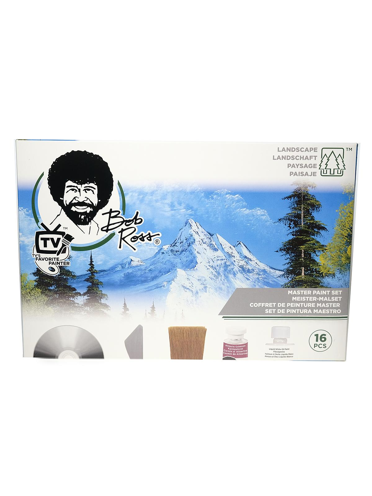 Bob Ross Master Paint Set Misterart Com
