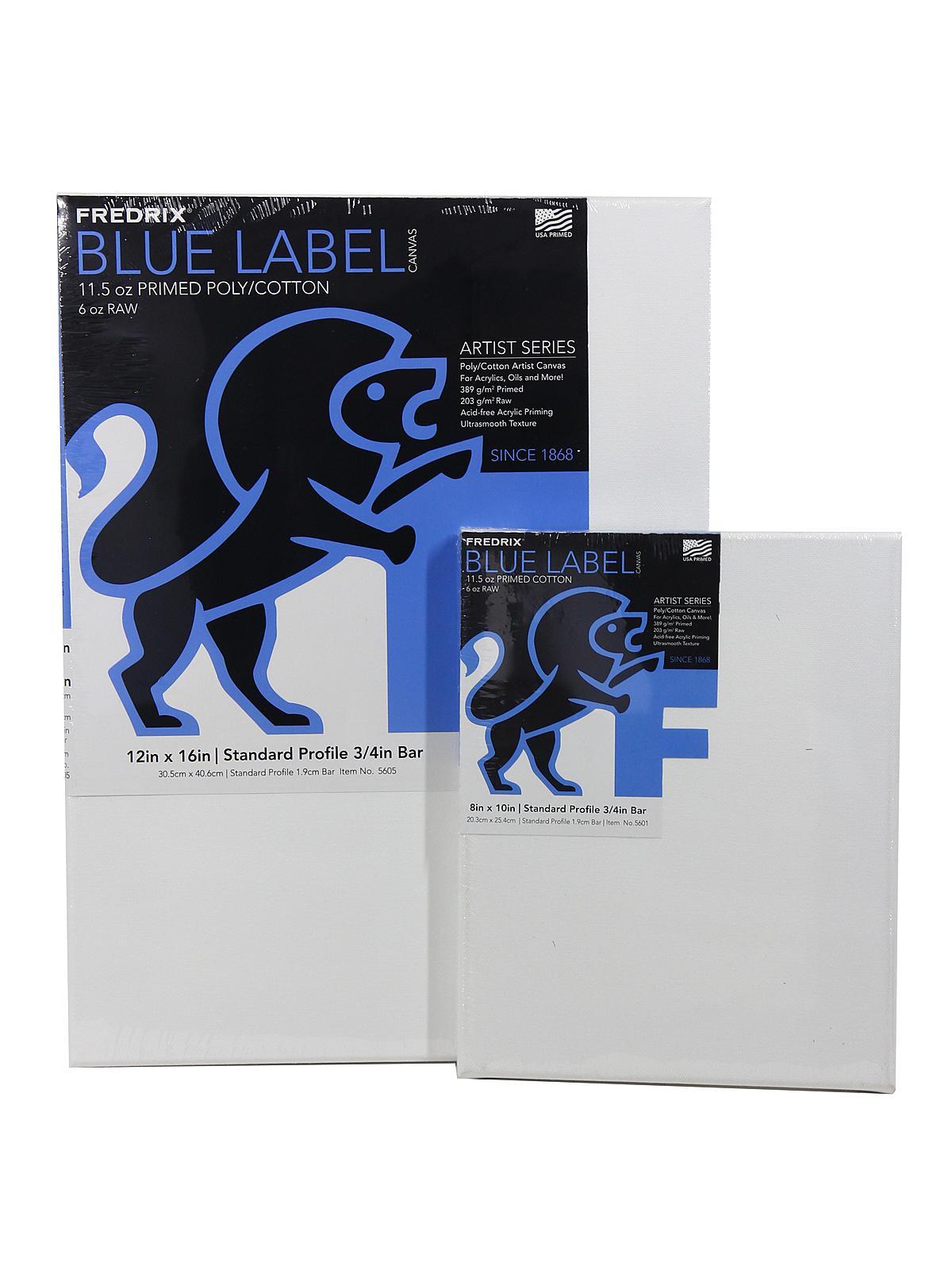 Fredrix Blue Label Ultra Smooth Portrait Grade Pre