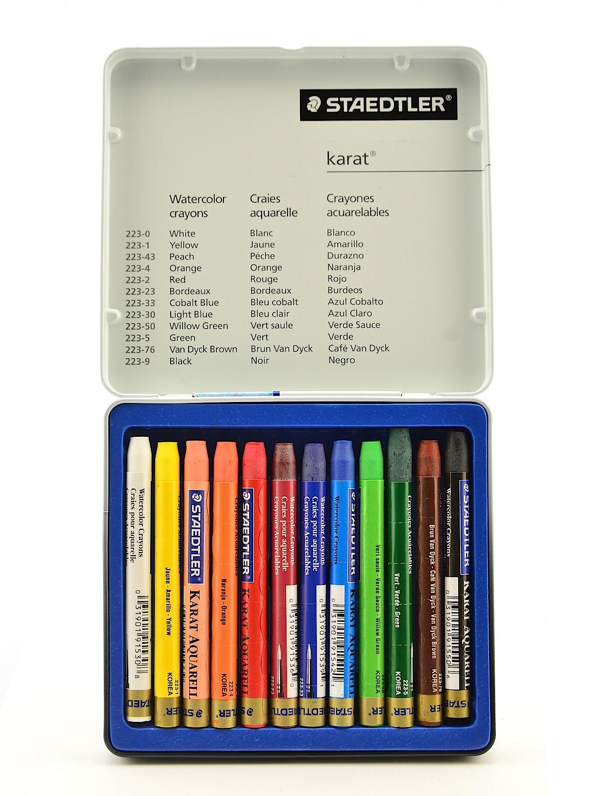 Karat Watercolor Crayon Sets