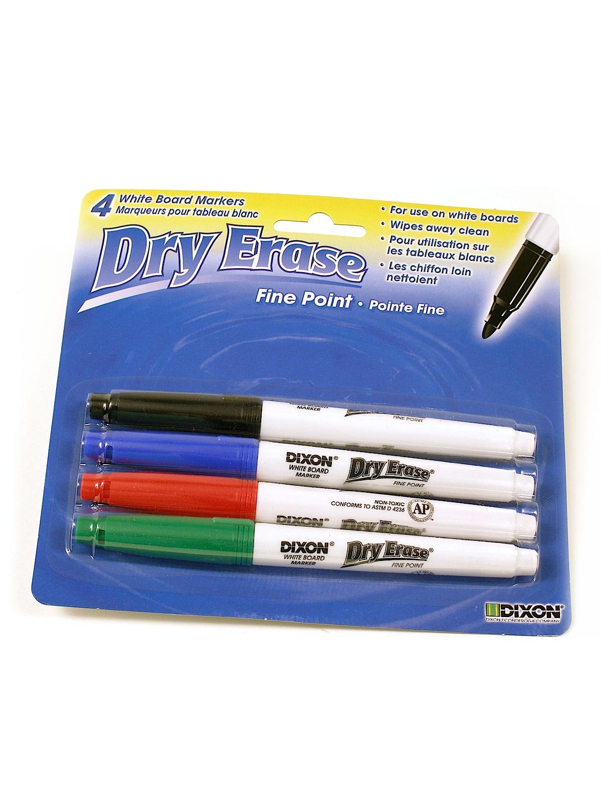 Fine Tip Dry Erase Marker Set