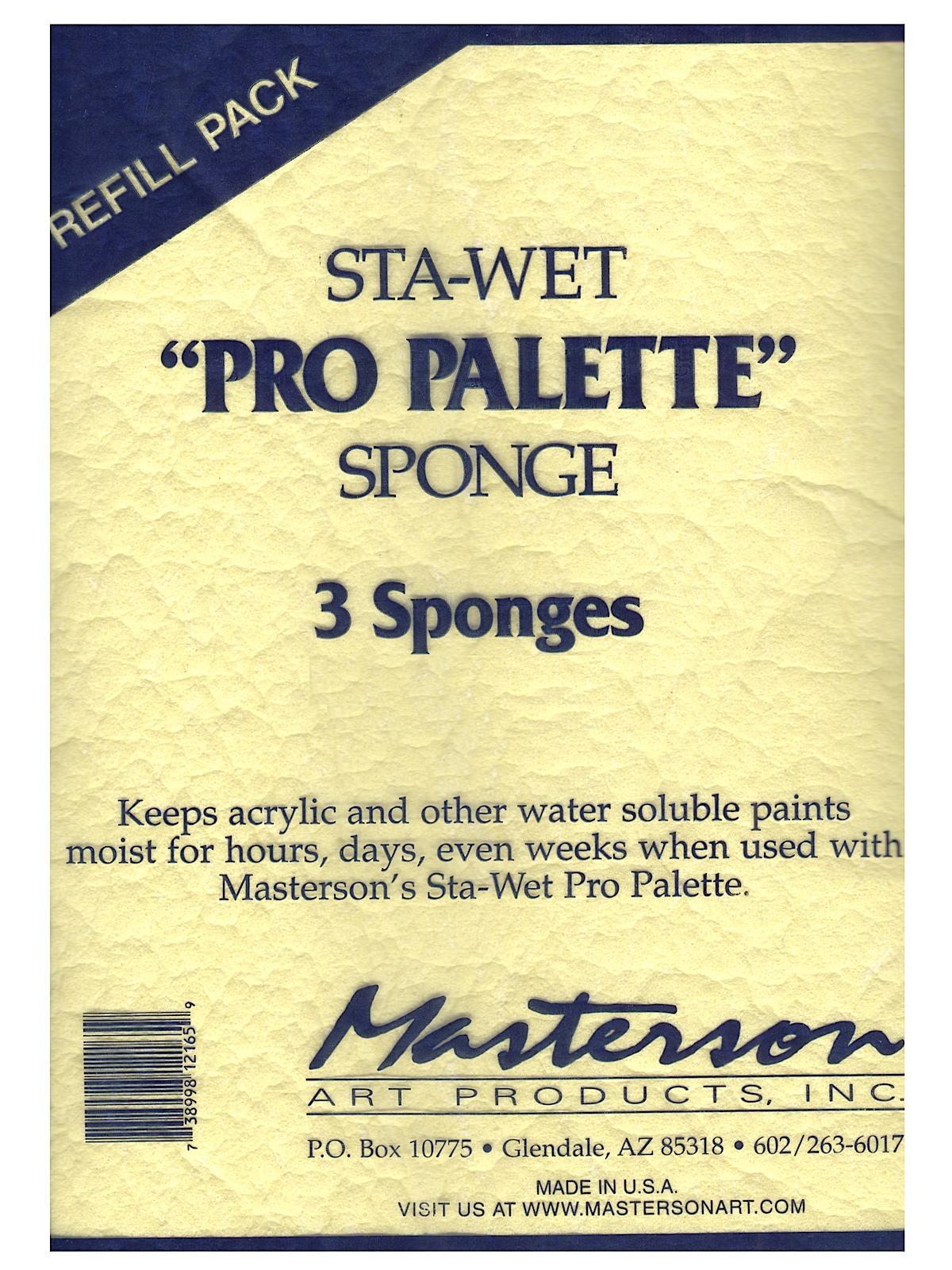 Premier Acrylic Paper and Sponge Refills