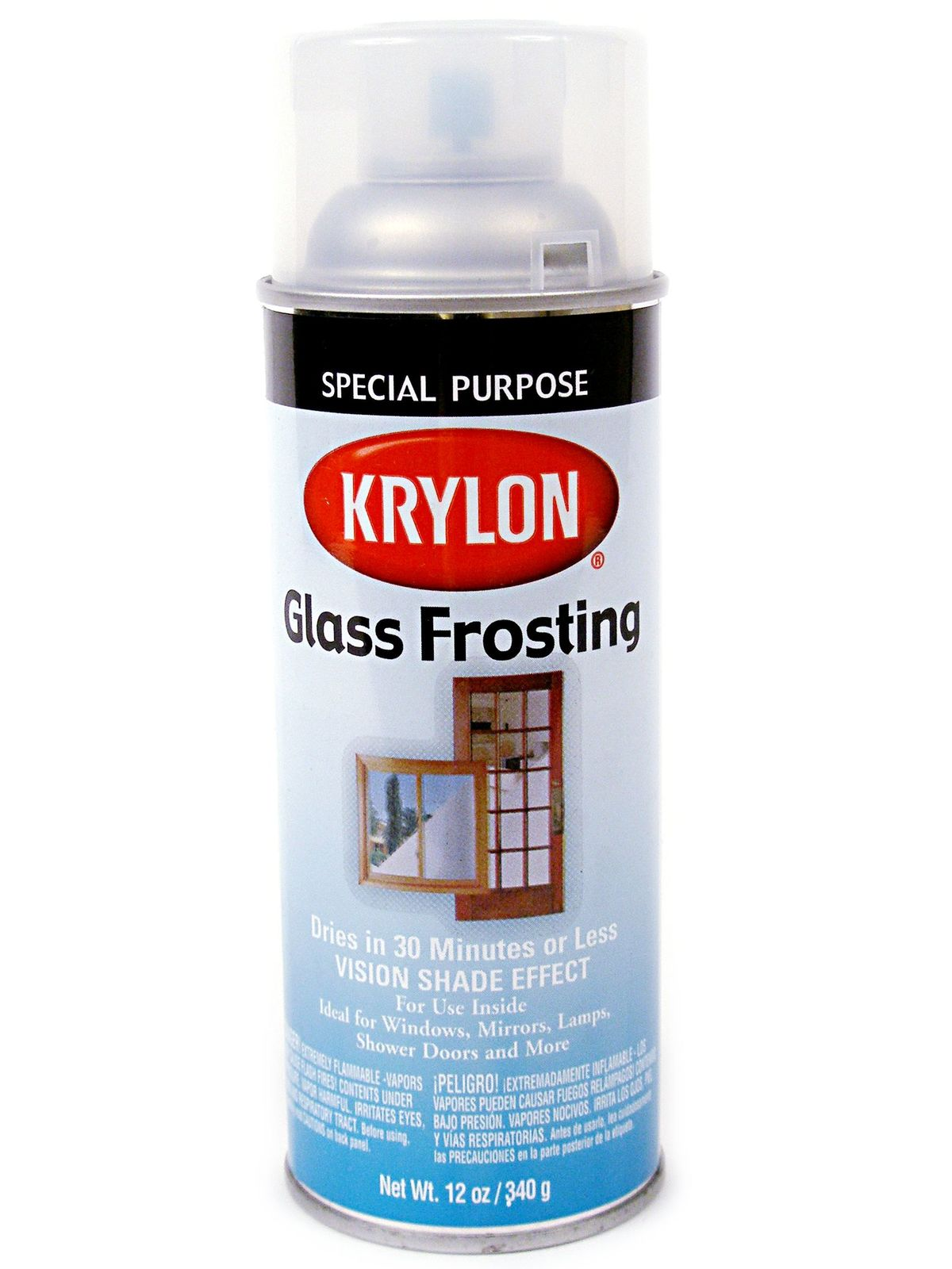 krylon frosted glass finish. Black Bedroom Furniture Sets. Home Design Ideas