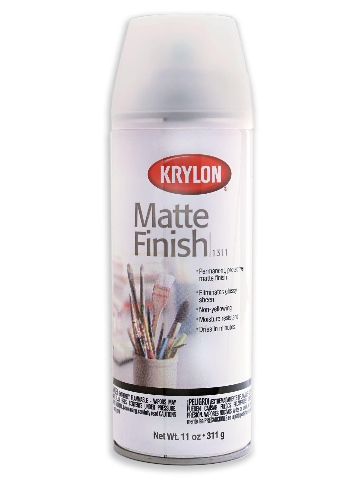 Krylon Matte Spray Misterart Com